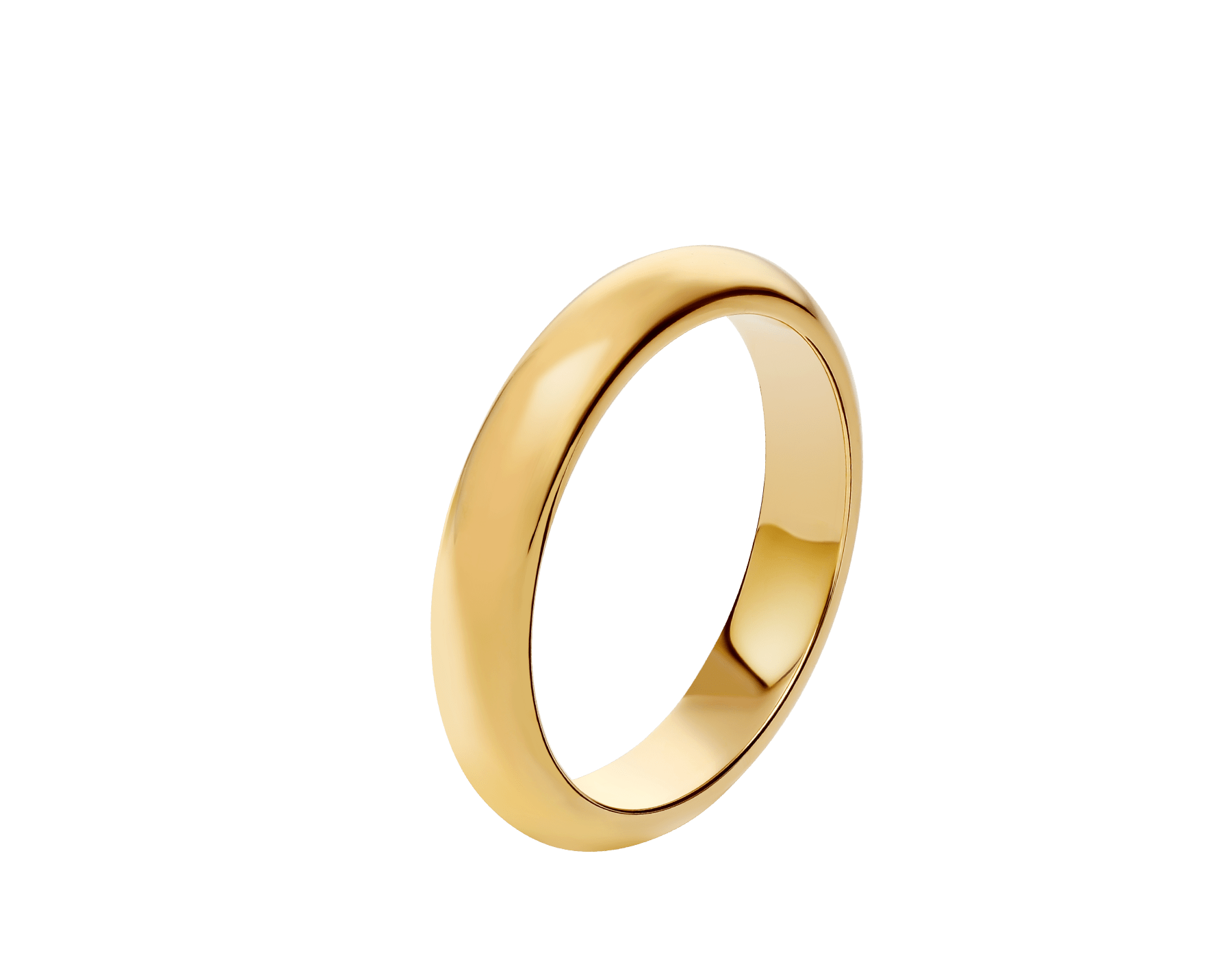 Fedi Wedding Band in 18 kt yellow gold Fedi-6 image 1