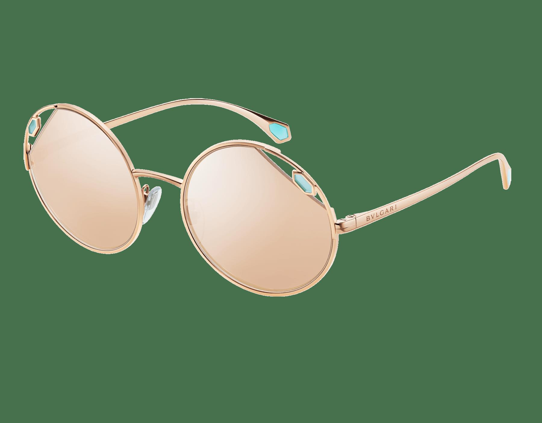 "Serpenti ""True Colours"" round metal sunglasses Truecoloursround image 1"