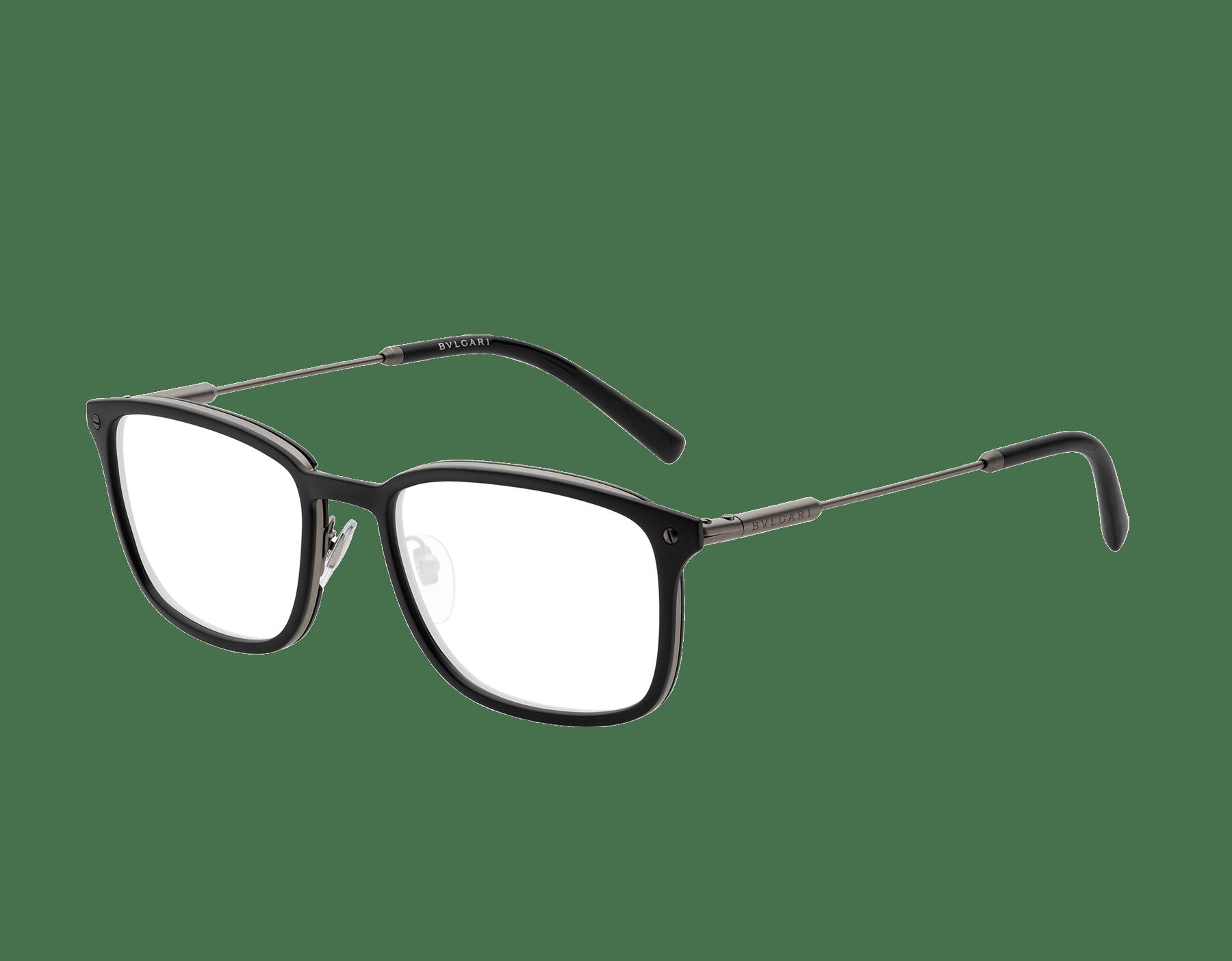 Diagono rectangular metal eyeglasses. 903632 image 1