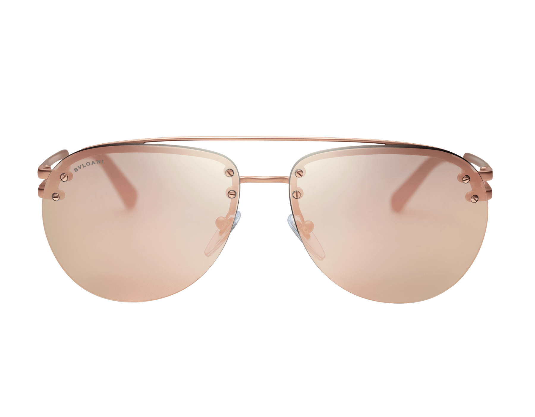 Bvlgari Bvlgari metal double bridge aviator sunglasses. 904043 image 2
