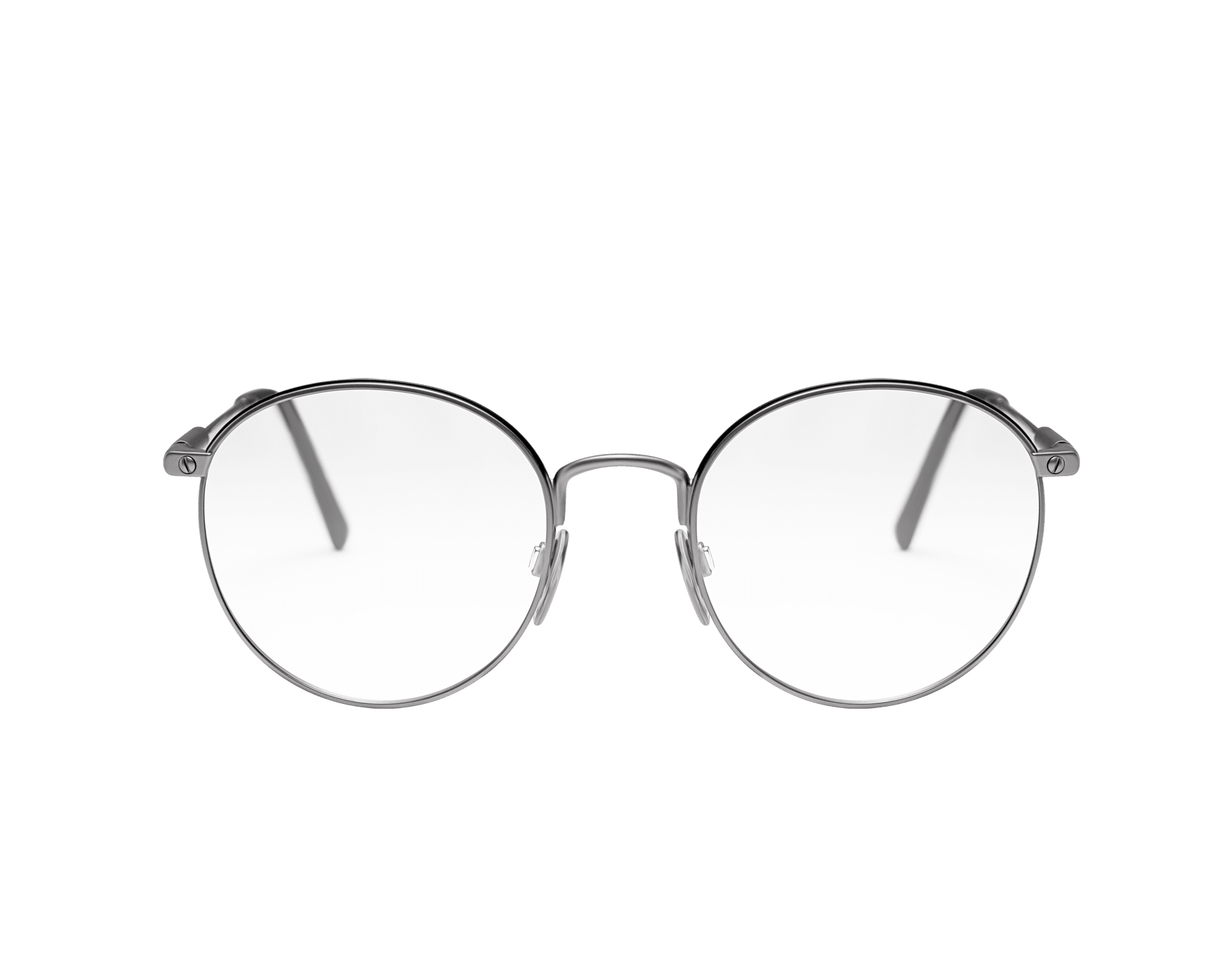 Bulgari Diagono round metal glasses. 903936 image 2