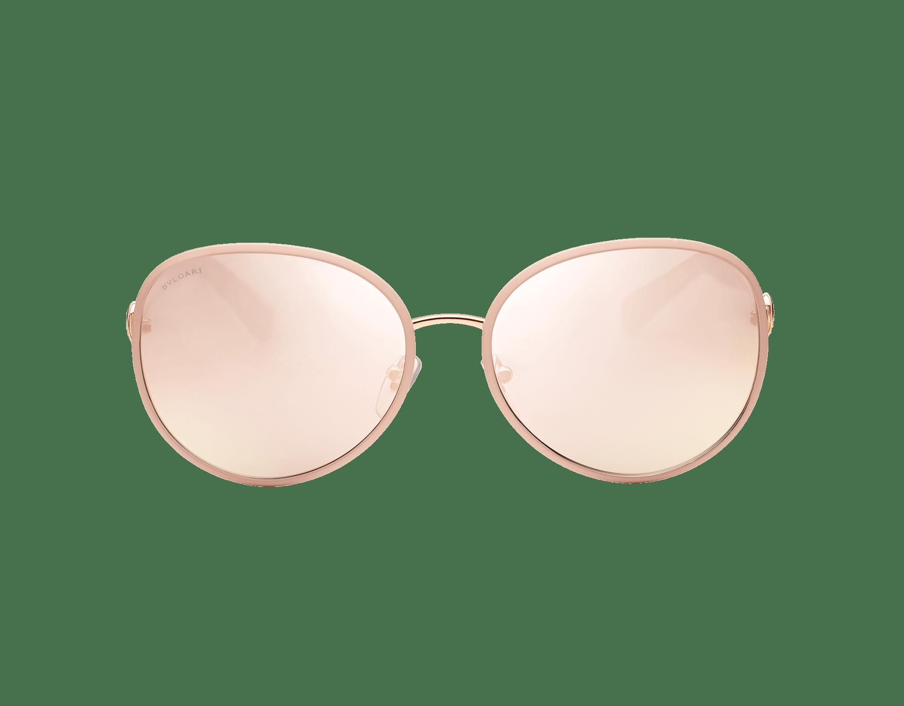 Óculos de sol Divas' Dream com formato redondo em metal. 903596 image 2