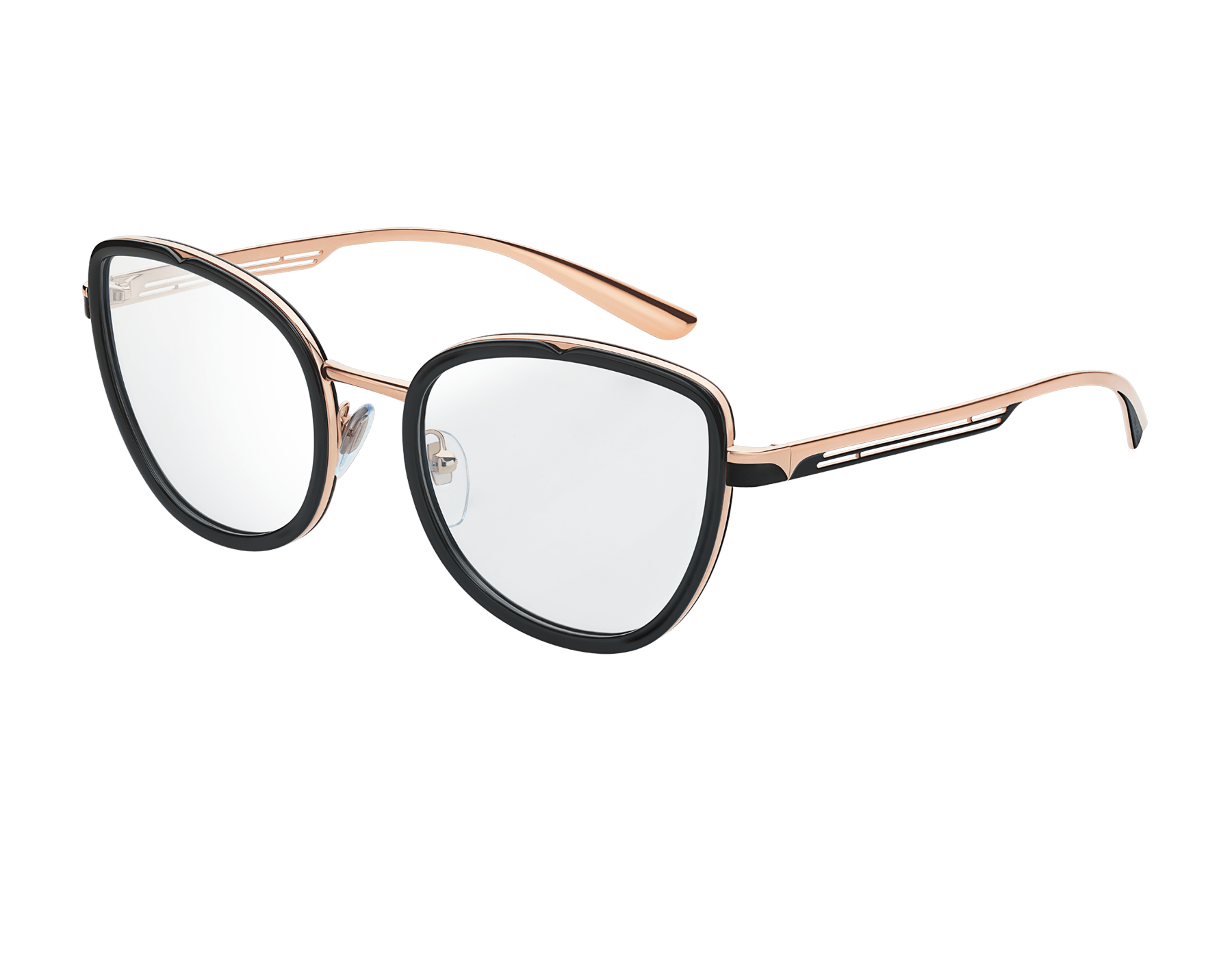 "Bvlgari B.zero1 ""B.cool"" metal cat-eye glasses. 904047 image 1"