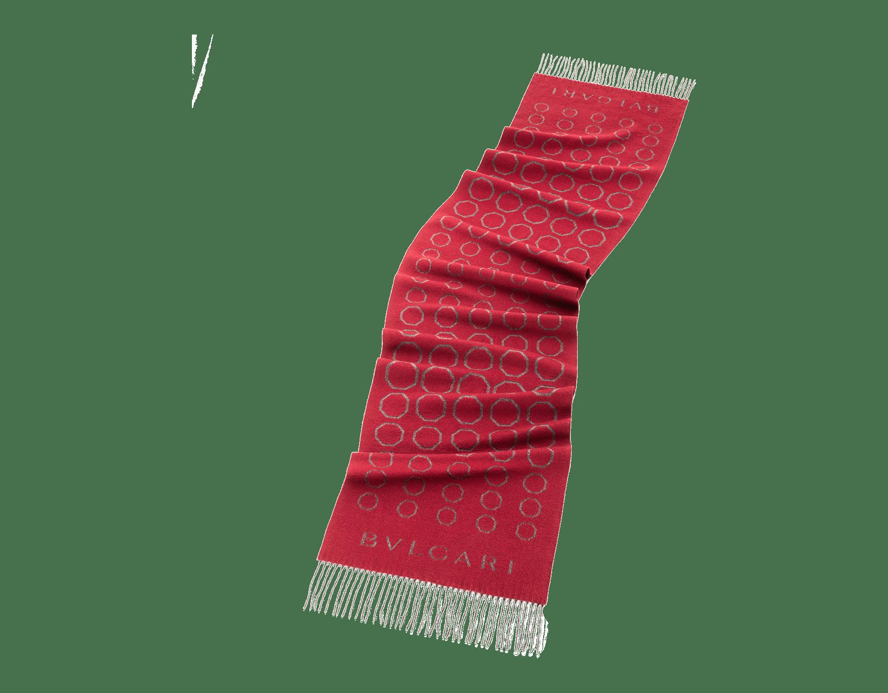 Estola Octo Degradé granada romana em fina lã. 243839 image 1