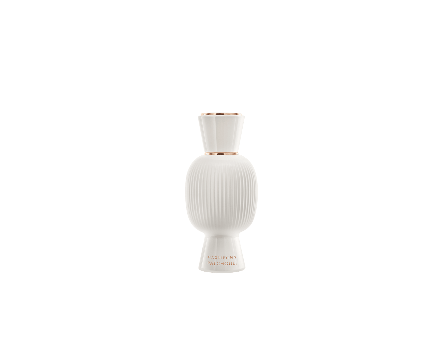 An exclusive perfume set, as bold and unique as you. The liquorous floriental Rock'n'Rome Allegra Eau de Parfum blends with the stark sensuality of the Magnifying Patchouli Essence, creating an irresistible personalised women's perfume. Perfume-Set-Rock-n-Rome-and-Patchouli-Magnifying image 3