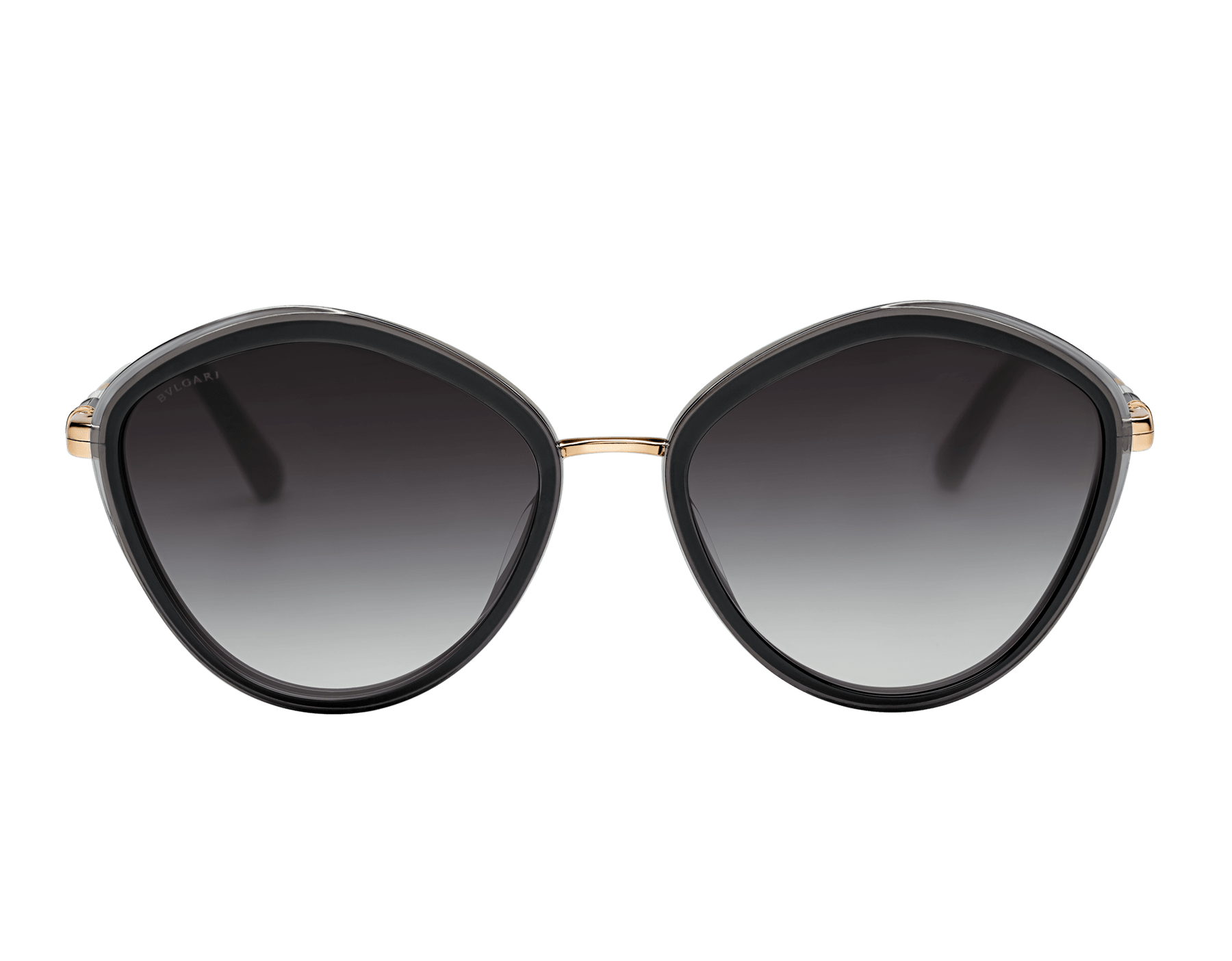 Bulgari Serpenti rounded metal sunglasses. 903988 image 2