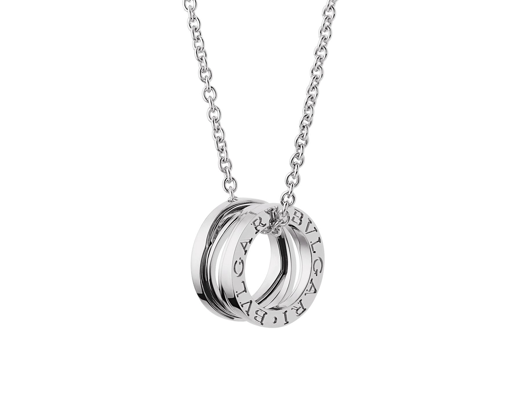 B.zero1 Design Legend necklace with 18 kt white gold chain and 18 kt white gold pendant. 354611 image 1