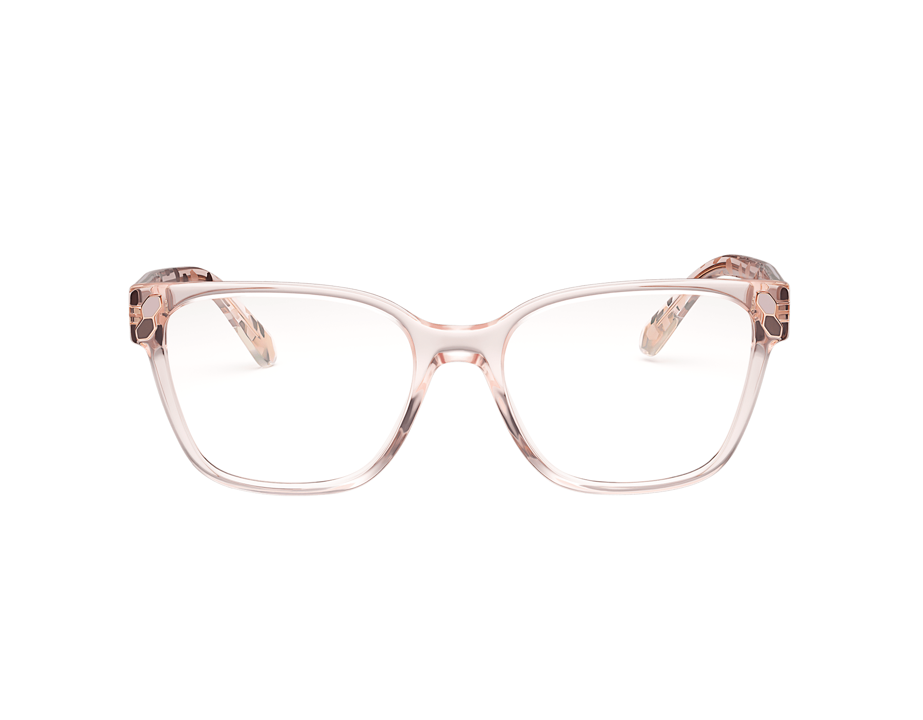 Serpenti soft rectangular acetate eyeglasses. 903550 image 2