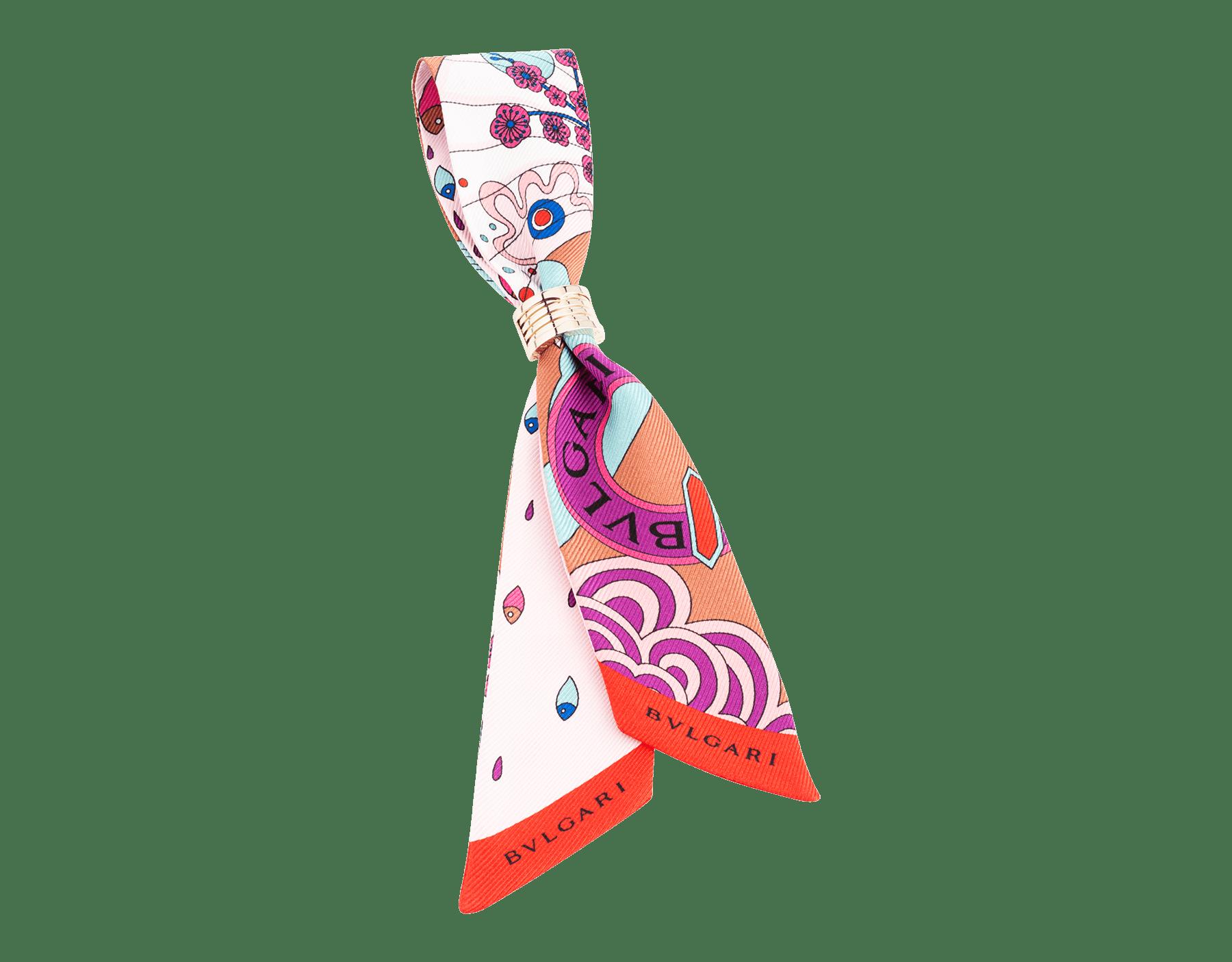 Shelley Jazz color topazio imperiale in seta saglione. 244035 image 1