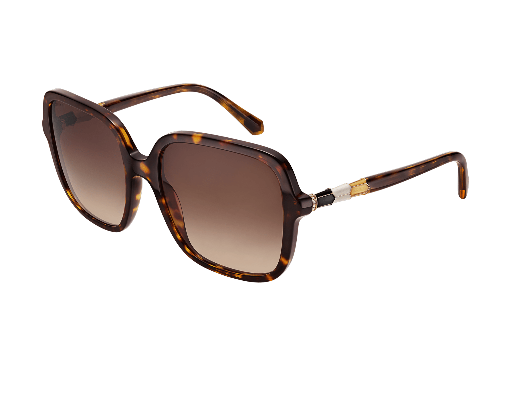 "Serpenti ""Back-to-scale"" acetate square sunglasses. backtoscale image 1"