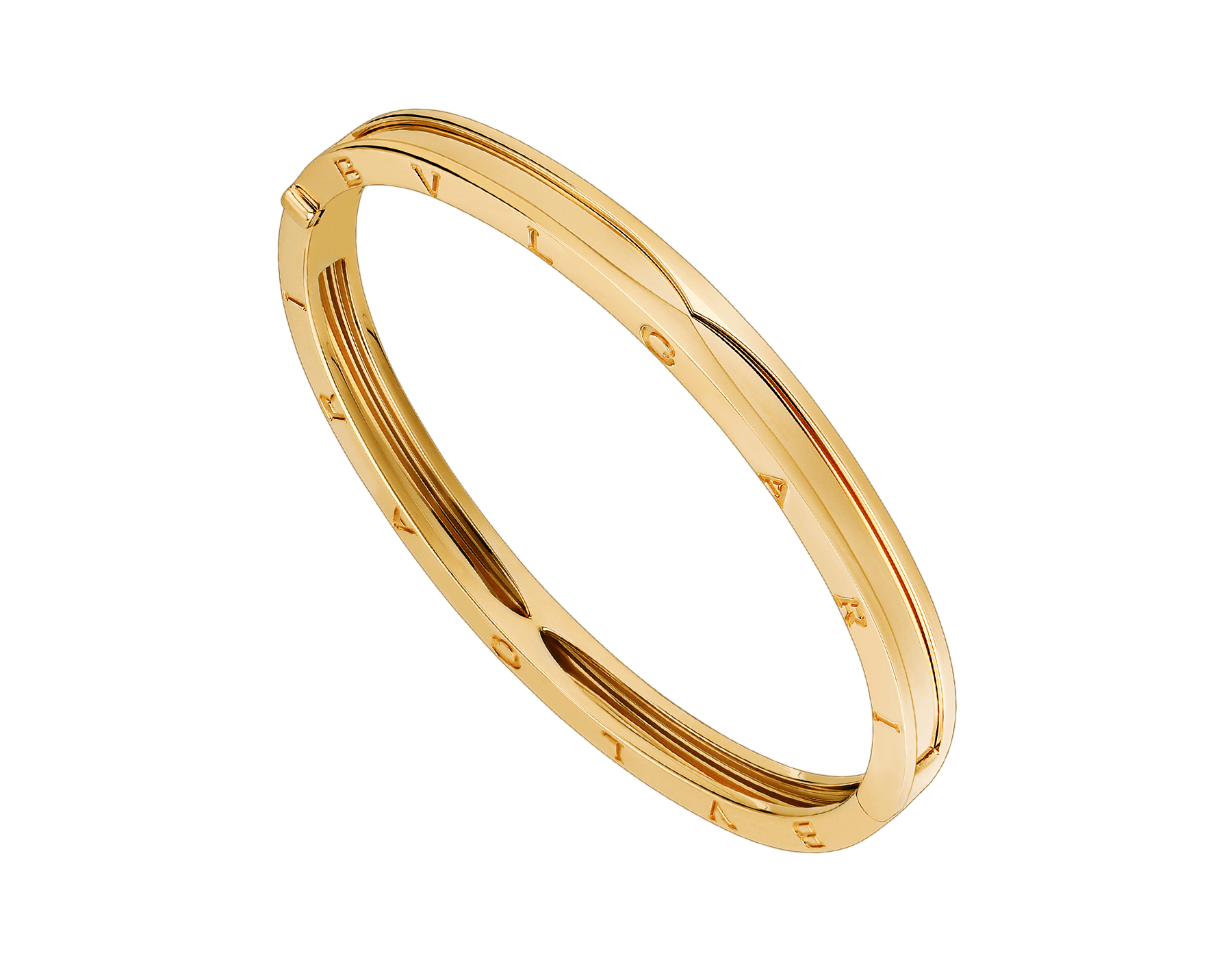 B.zero1 bangle bracelet in 18 kt yellow gold. BR857482 image 1