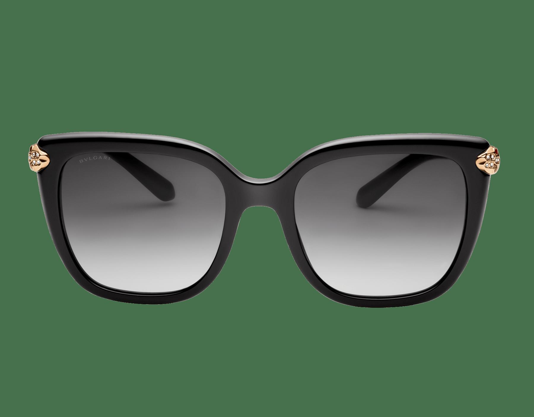 Serpenti 方形醋酸纖維太陽眼鏡。 903559 image 2