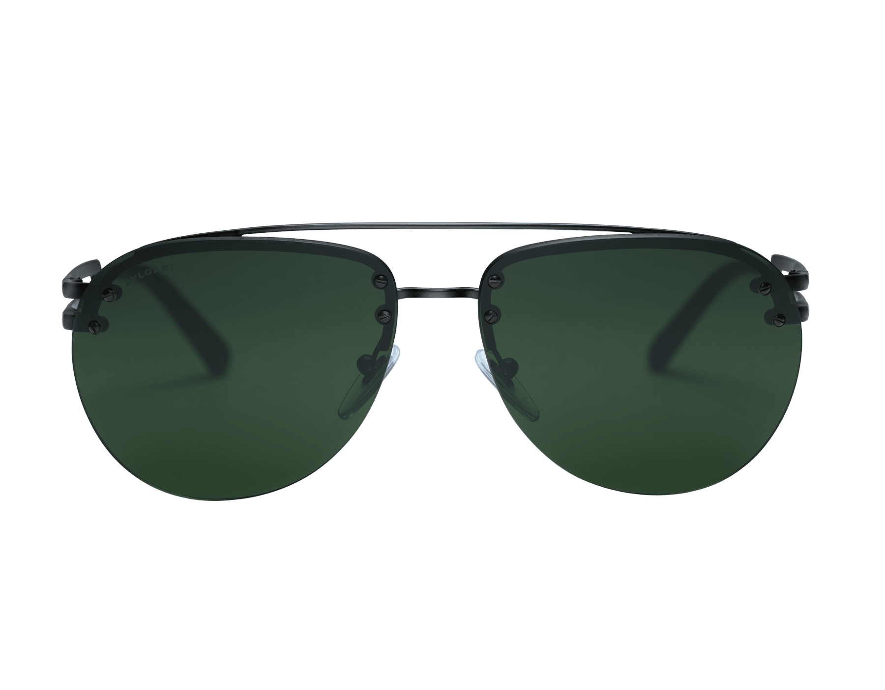 Bvlgari Bvlgari metal double bridge aviator sunglasses. 904044 image 2
