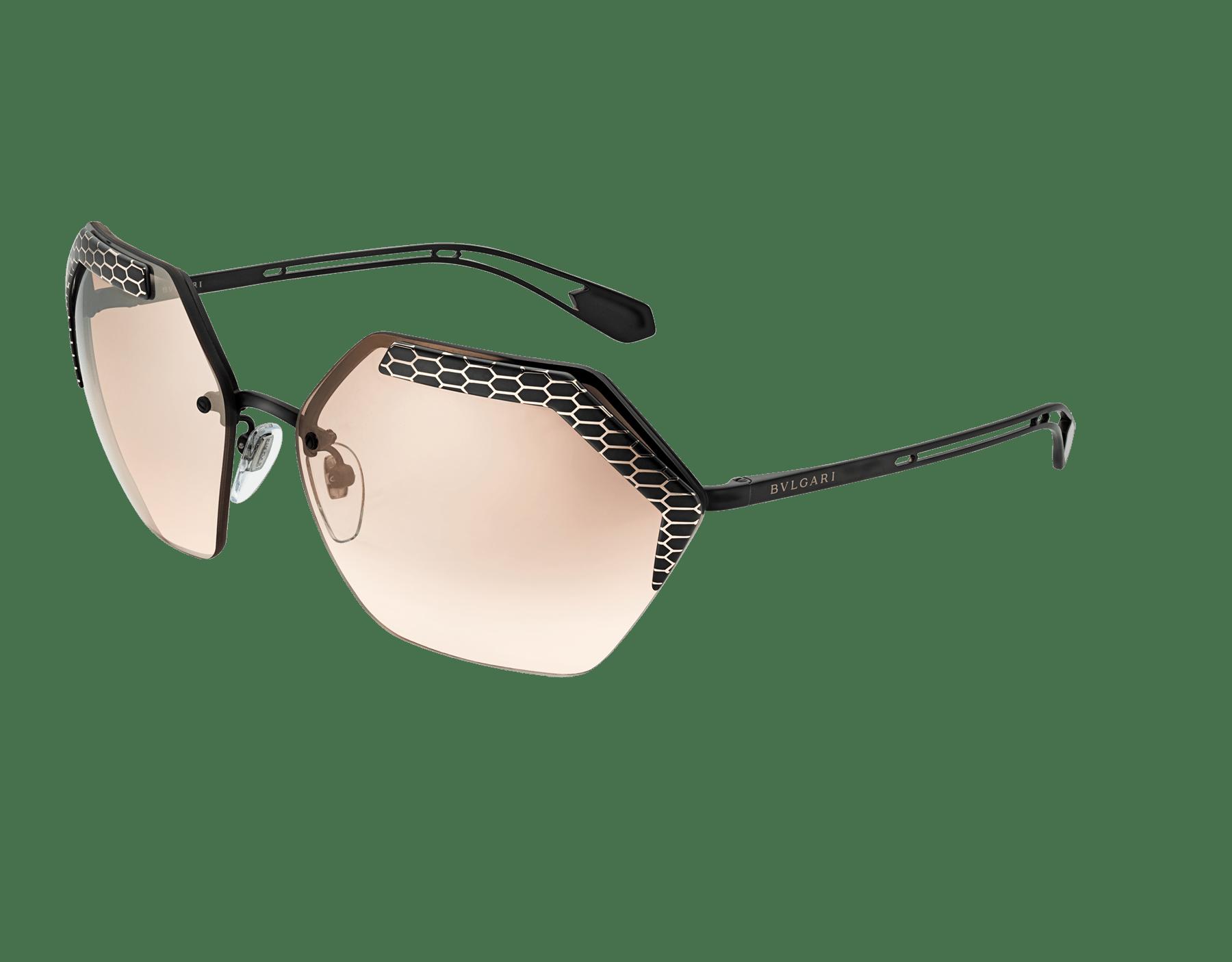 نظارات شمسية سيربينتايز ريفولوشن معدنية سداسية الشكل منحنية. 904007 image 1