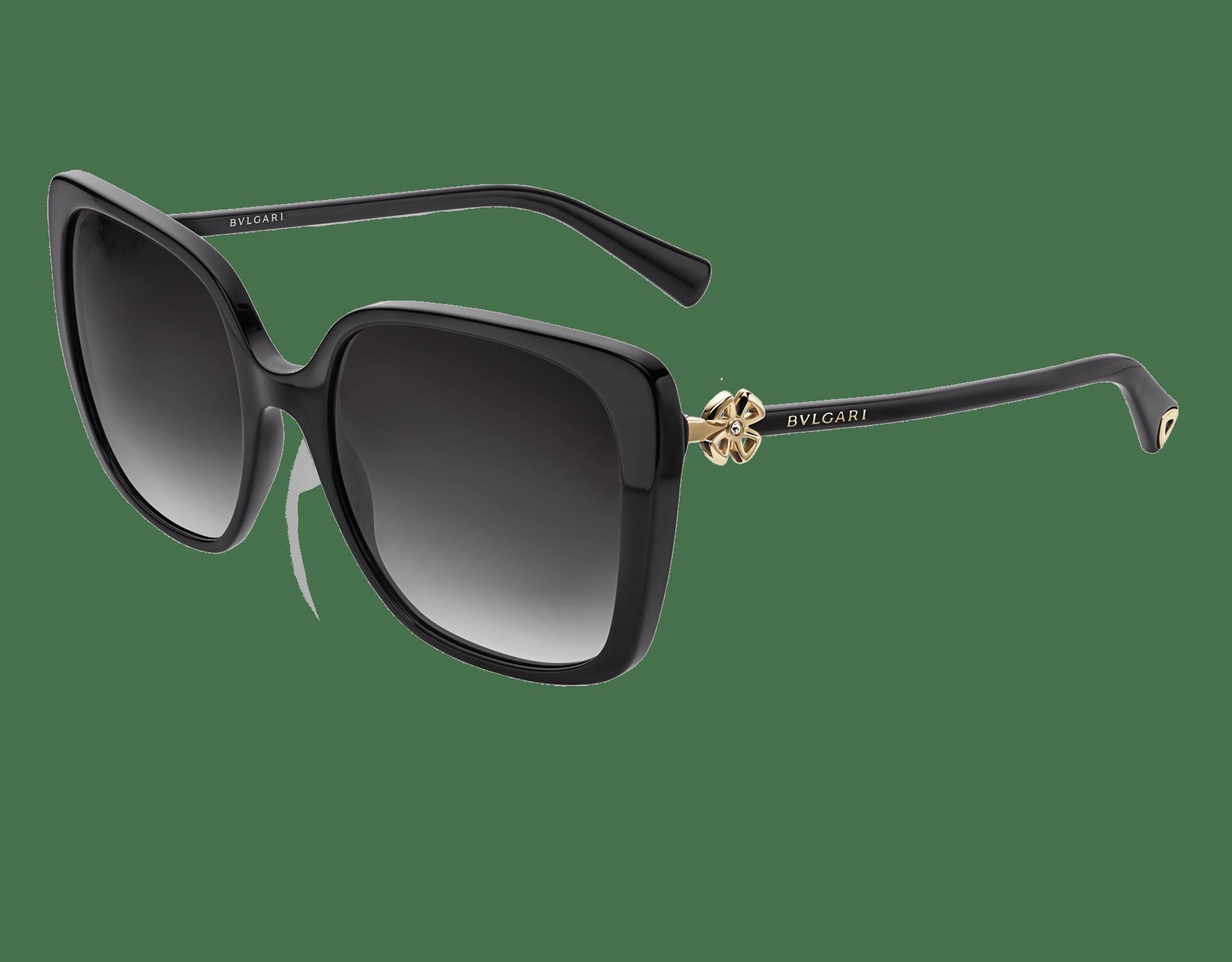 Bulgari Fiorever squared acetate sunglasses. 904010 image 1