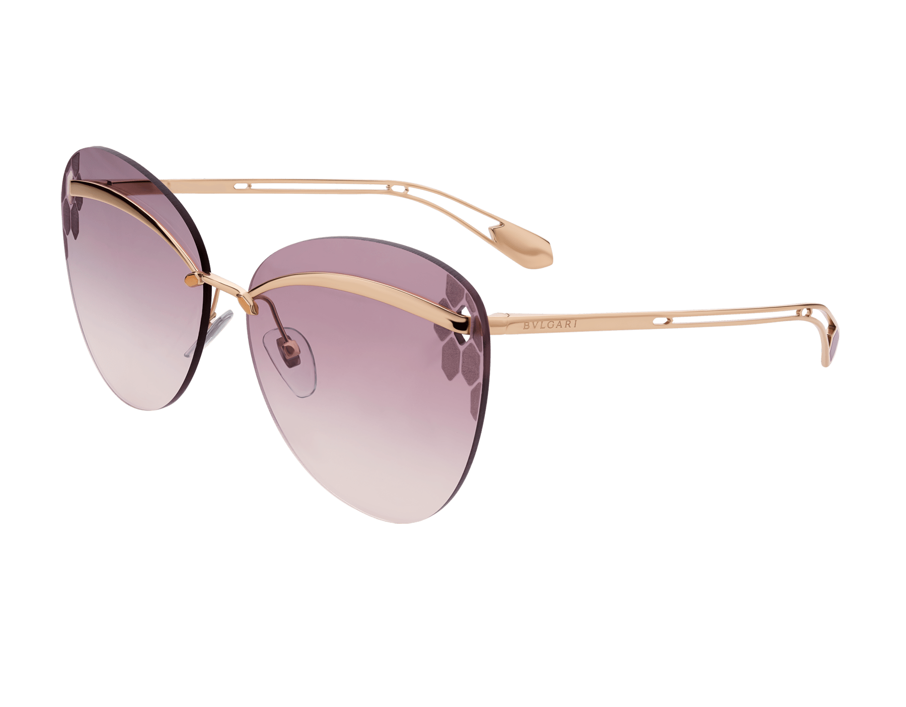 Bulgari Serpenti Flyingscale butterfly metal sunglasses. 903899 image 1