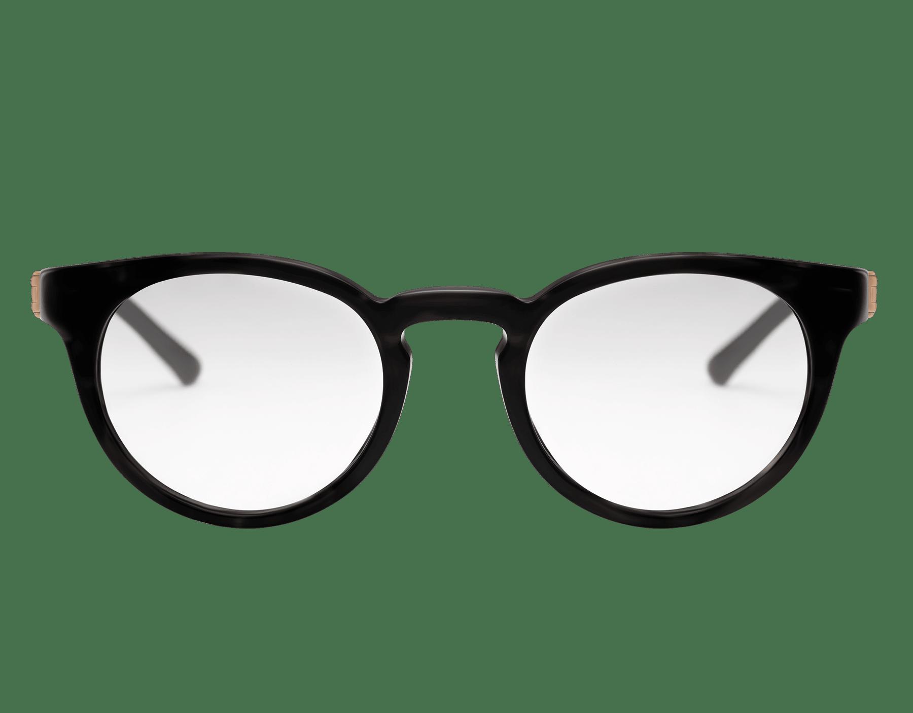Óculos redondos Bvlgari Diagono em acetato. 903923 image 2