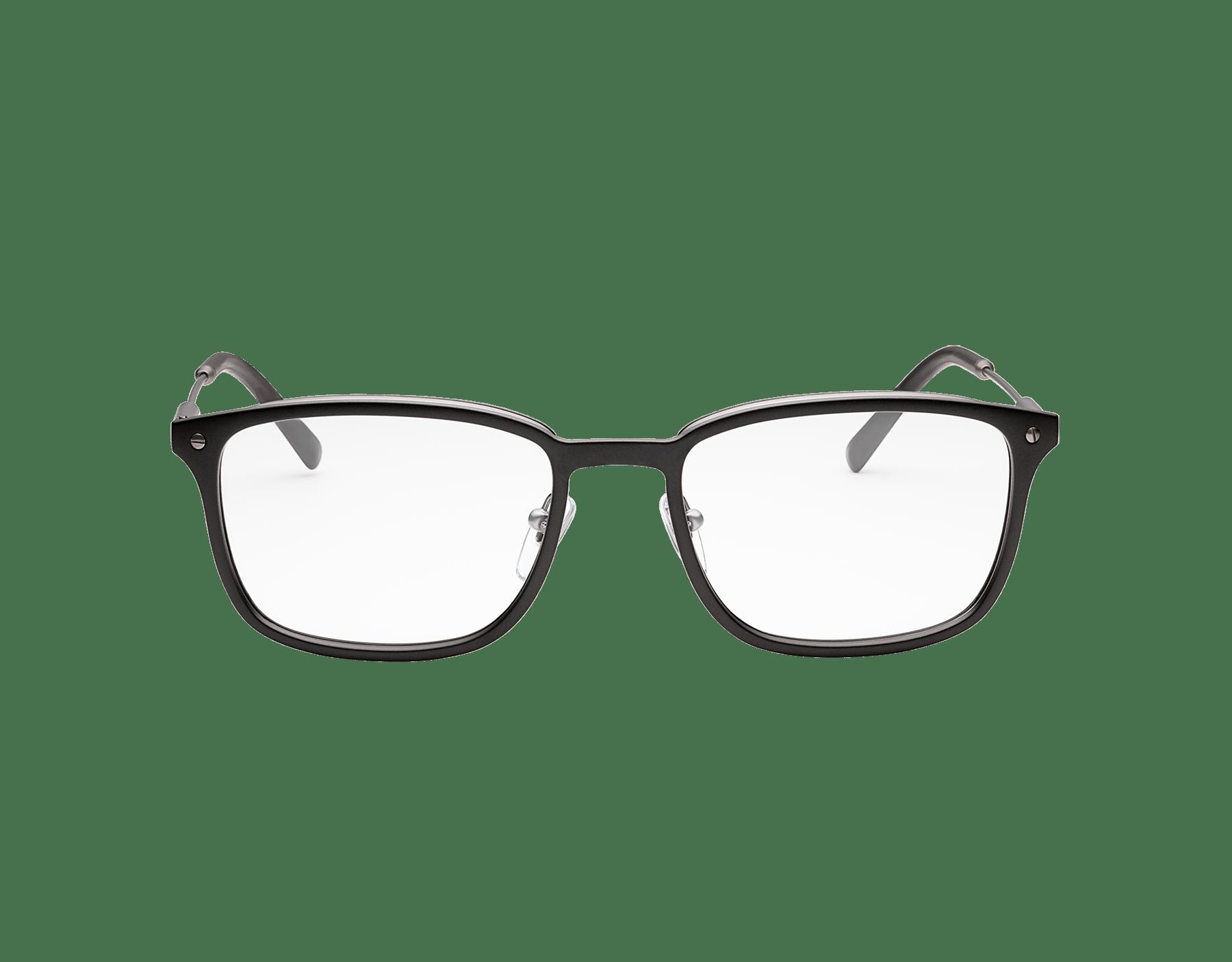 Diagono rectangular metal eyeglasses. 903632 image 2