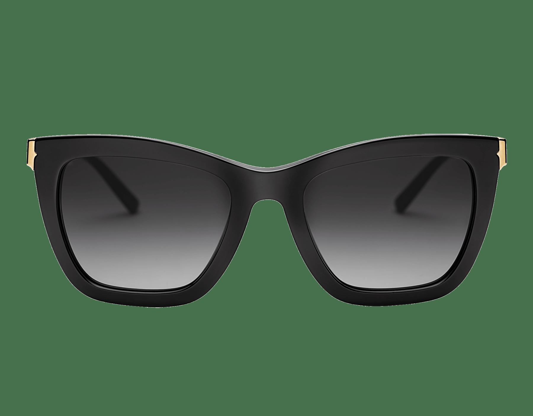 """Óculos de sol B.zero1 """"Downtown"""" retangular em acetato 904074 image 2"""