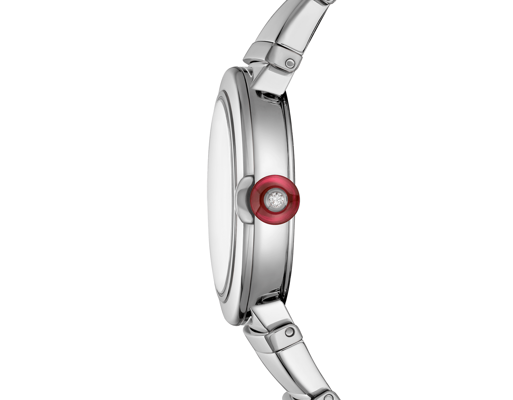 LVCEA watch in stainless steel case and bracelet, with silver opaline dial. 102195 image 3