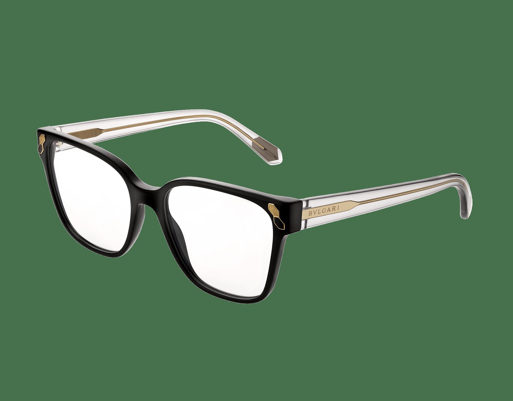 Occhiali da vista Serpenti con montatura rettangolare in acetato. 903549 image 1