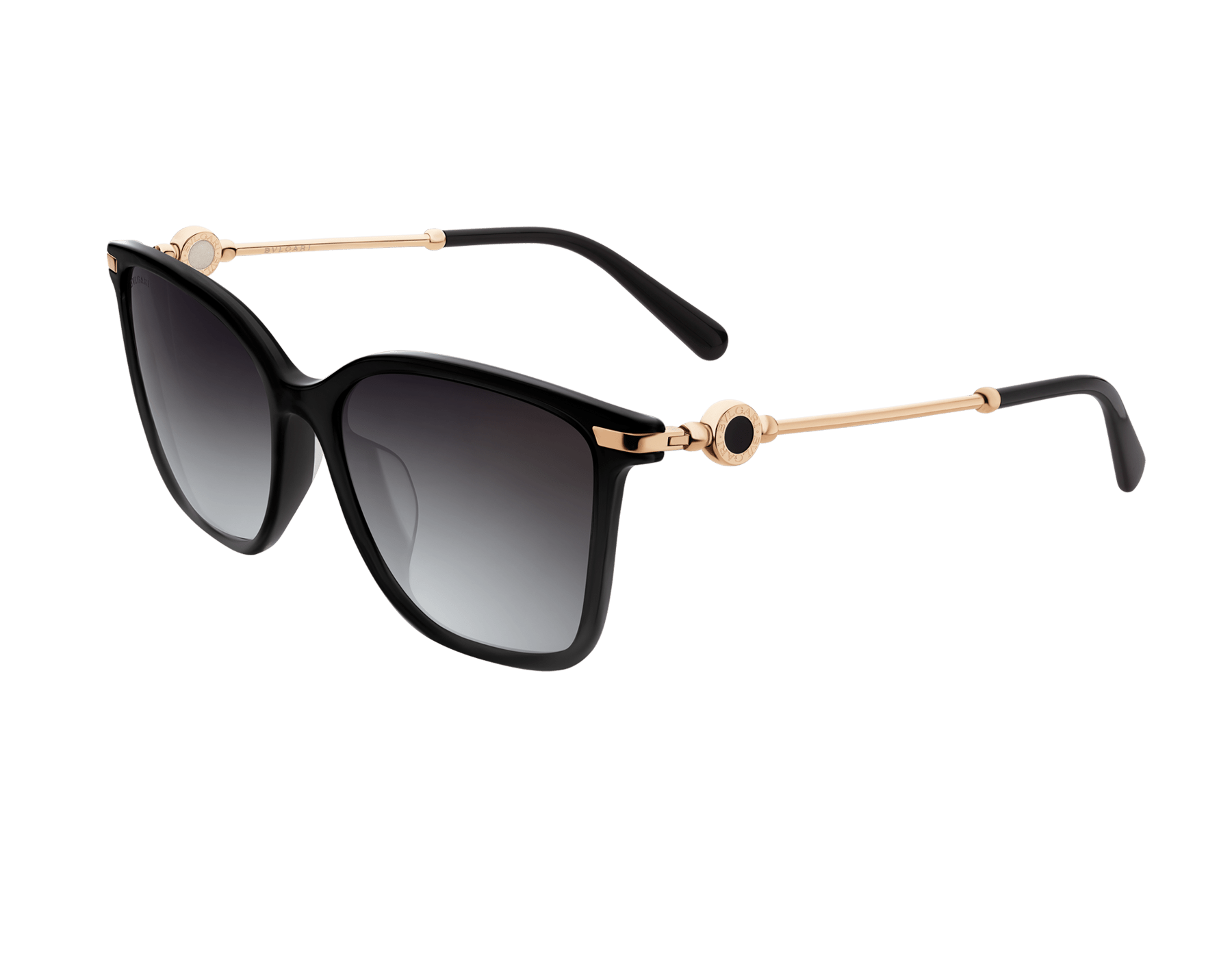 BVLGARI BVLGARI squared acetate sunglasses with metal décor. 903827 image 1