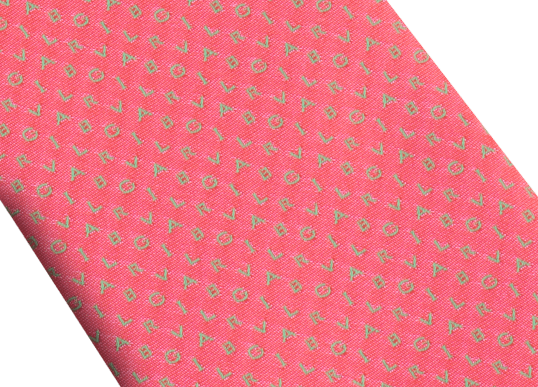 "Mimetic Jade green ""Bvlgari ShineBeth"" seven-fold tie in fine jacquard silk. BulgariShineBeth image 2"