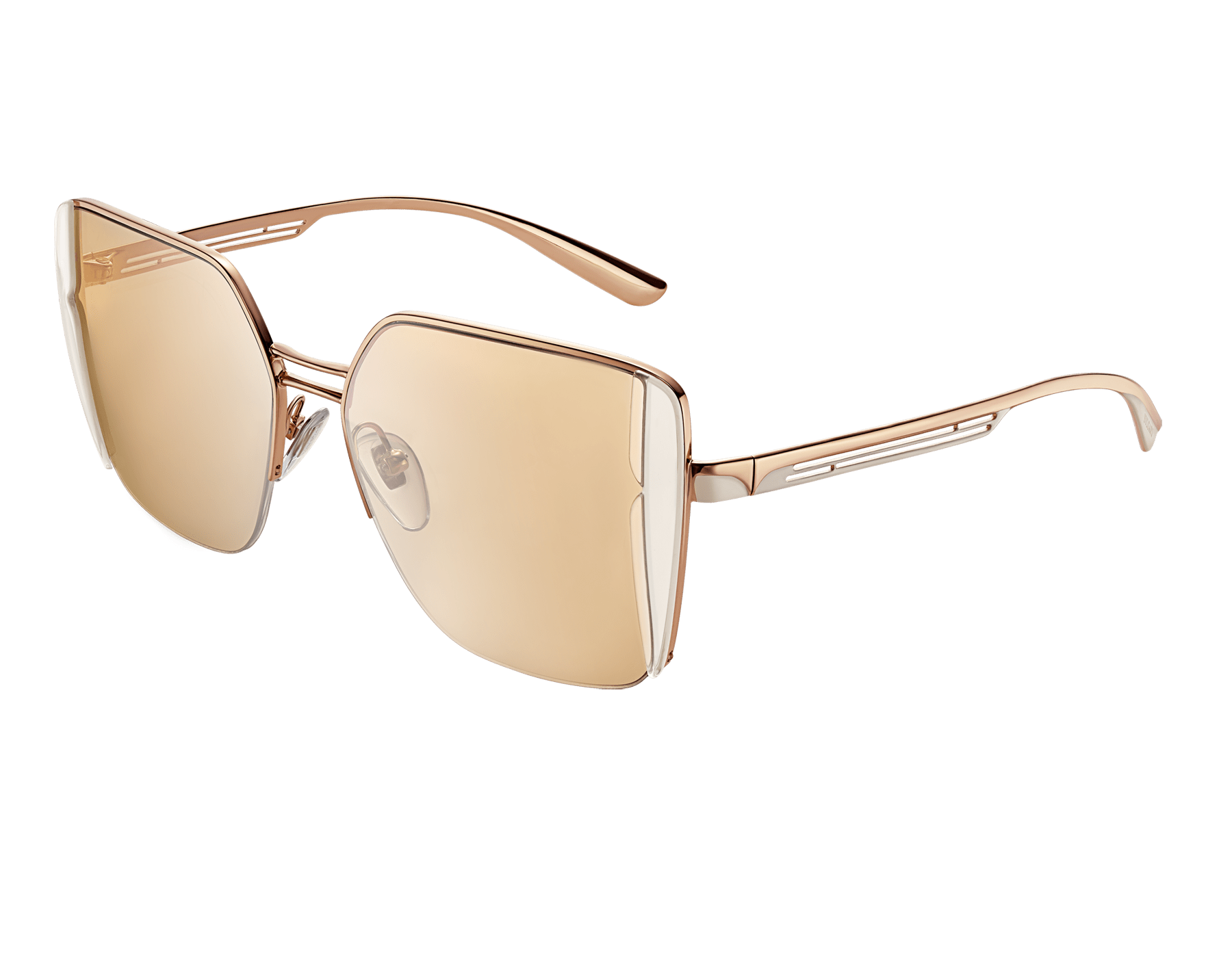 Bulgari B.zero1 B.purebright metal squared sunglasses. 903948 image 1