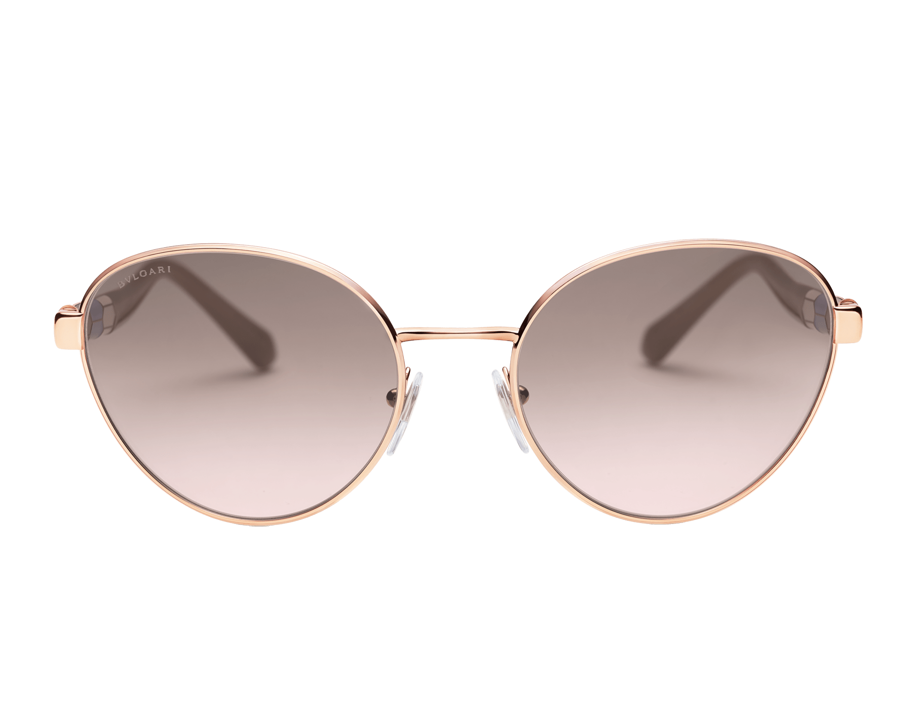 "Serpenti ""Back to Scale"" oval metal sunglasses 904079 image 2"