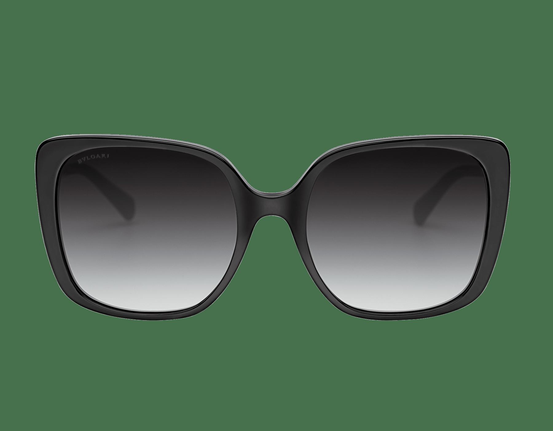 Bulgari Fiorever squared acetate sunglasses. 904010 image 2