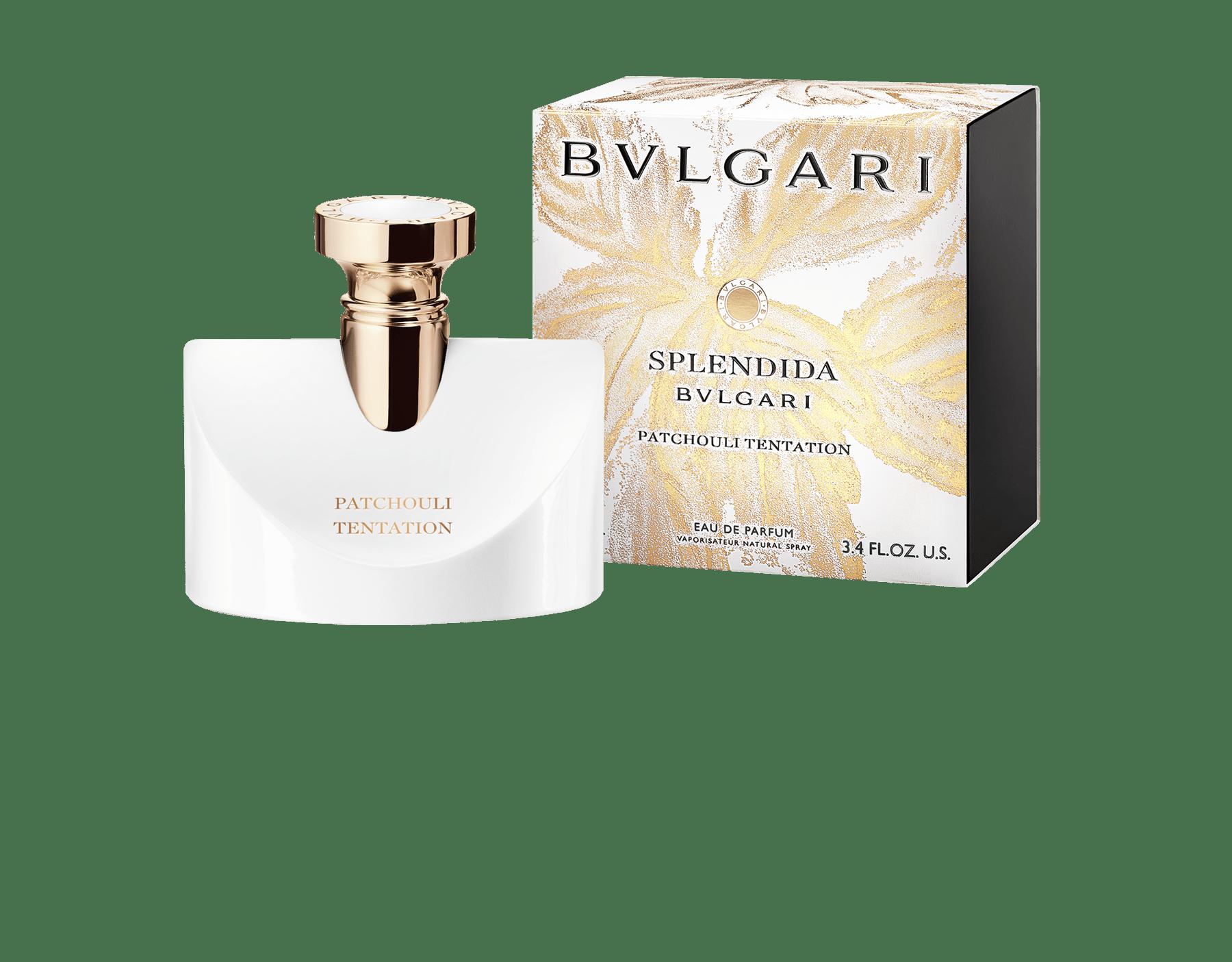 Un parfum chypré floral délicat et irrésistible, composé d'un trio de patchouli reflétant toute l'ardeur d'une tentation grandissante. 41127 image 3