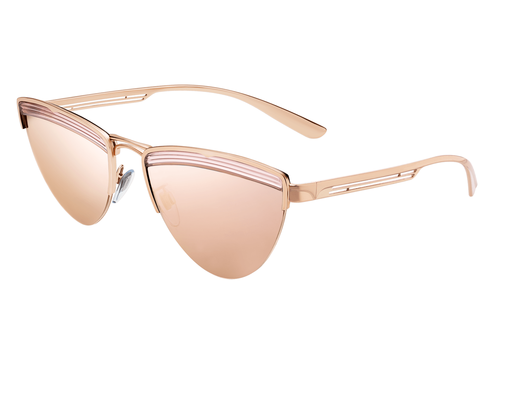 """Bvlgari B.zero1 """"B.minivibes"""" metal cat-eye sunglasses. 904028 image 1"""