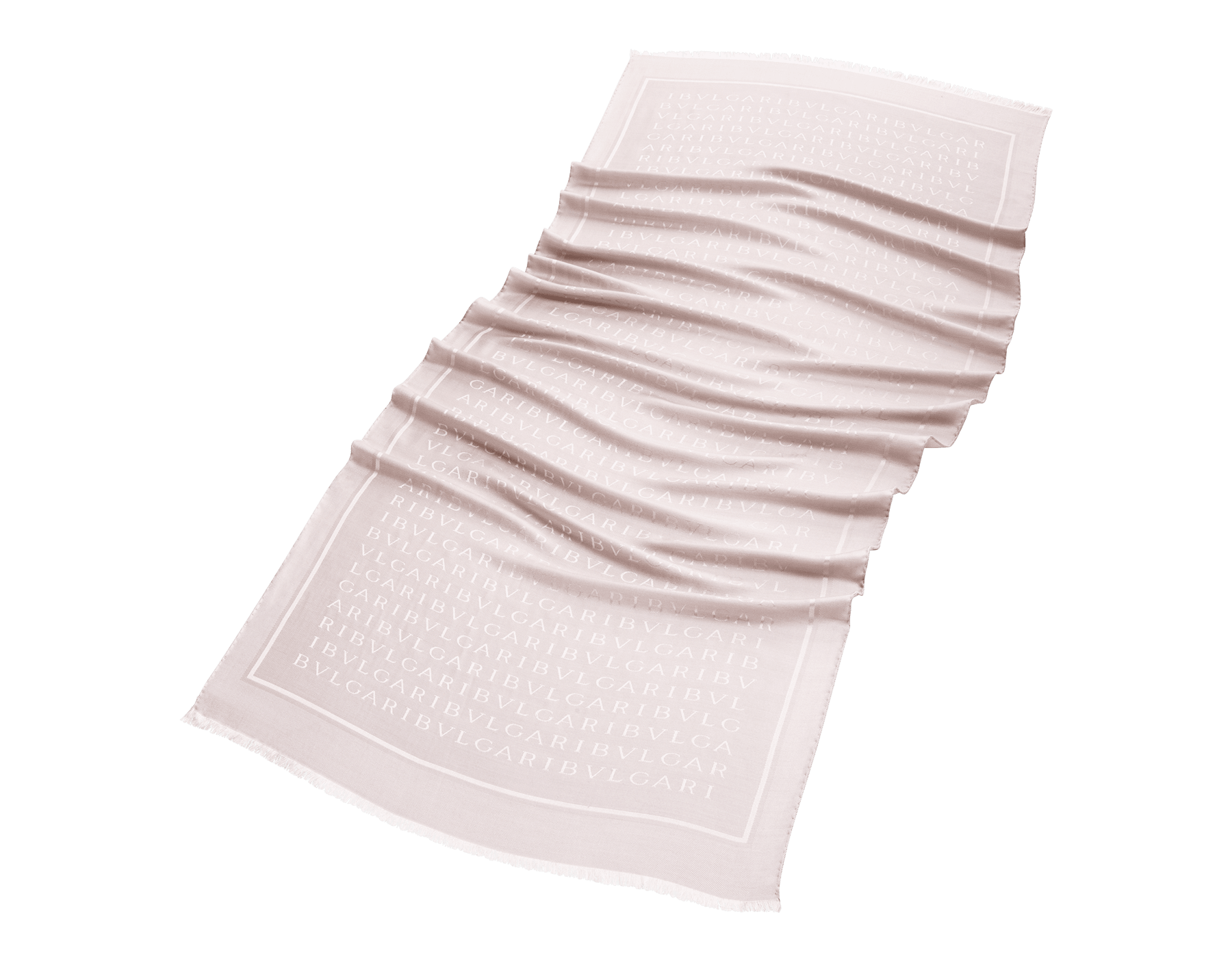 "Capri turquoise ""Lettere Maxi"" stole in fine silk wool. LETTEREMAXIc image 1"