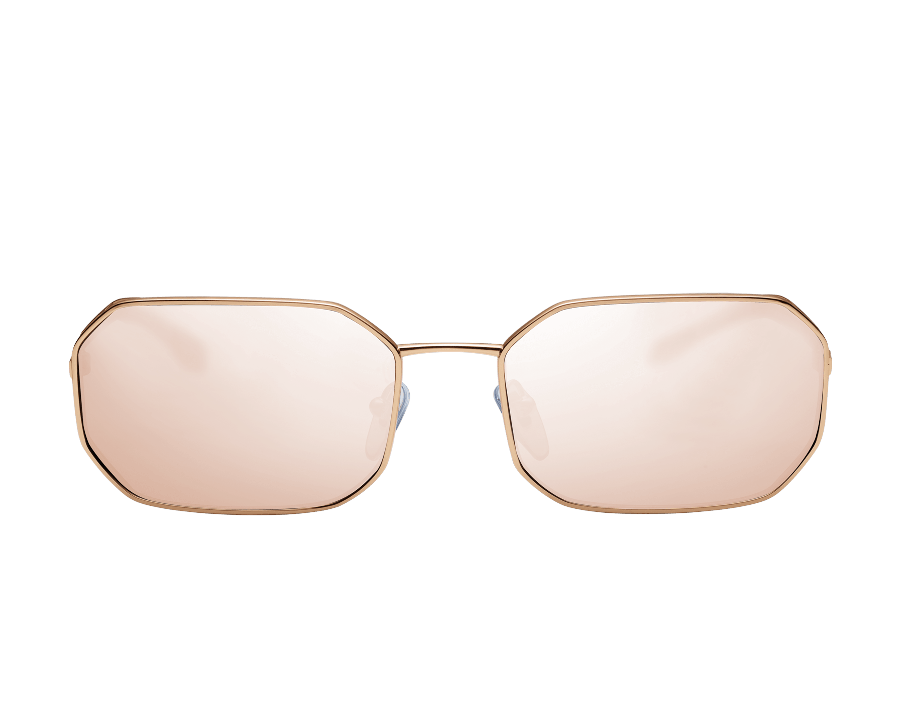Bvlgari Serpenti Narrowmation rectangular aviator metal sunglasses. 903861 image 2