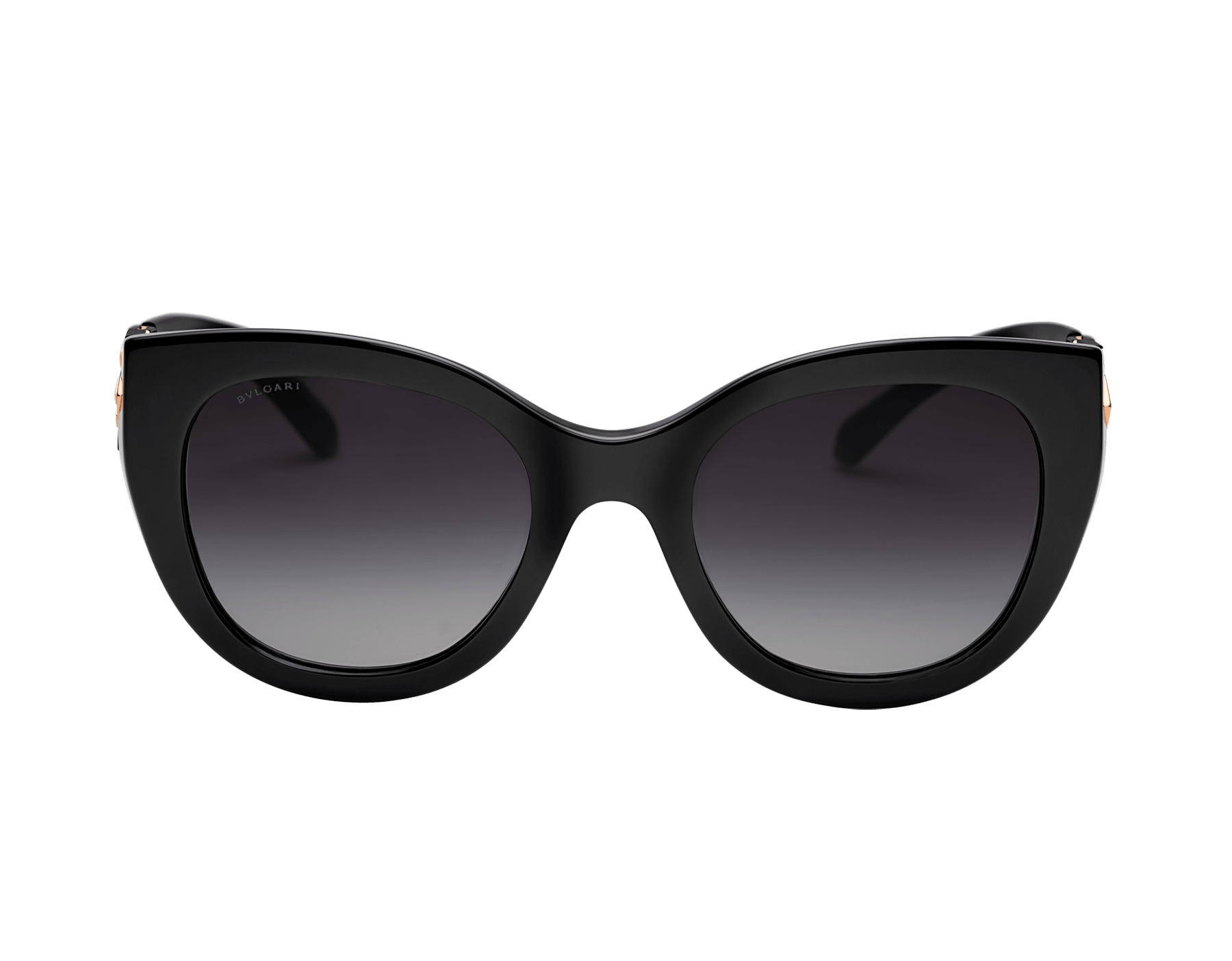 Bvlgari Serpenti squared bold acetate sunglasses with Serpenti metal décor and crystals. 903741 image 2