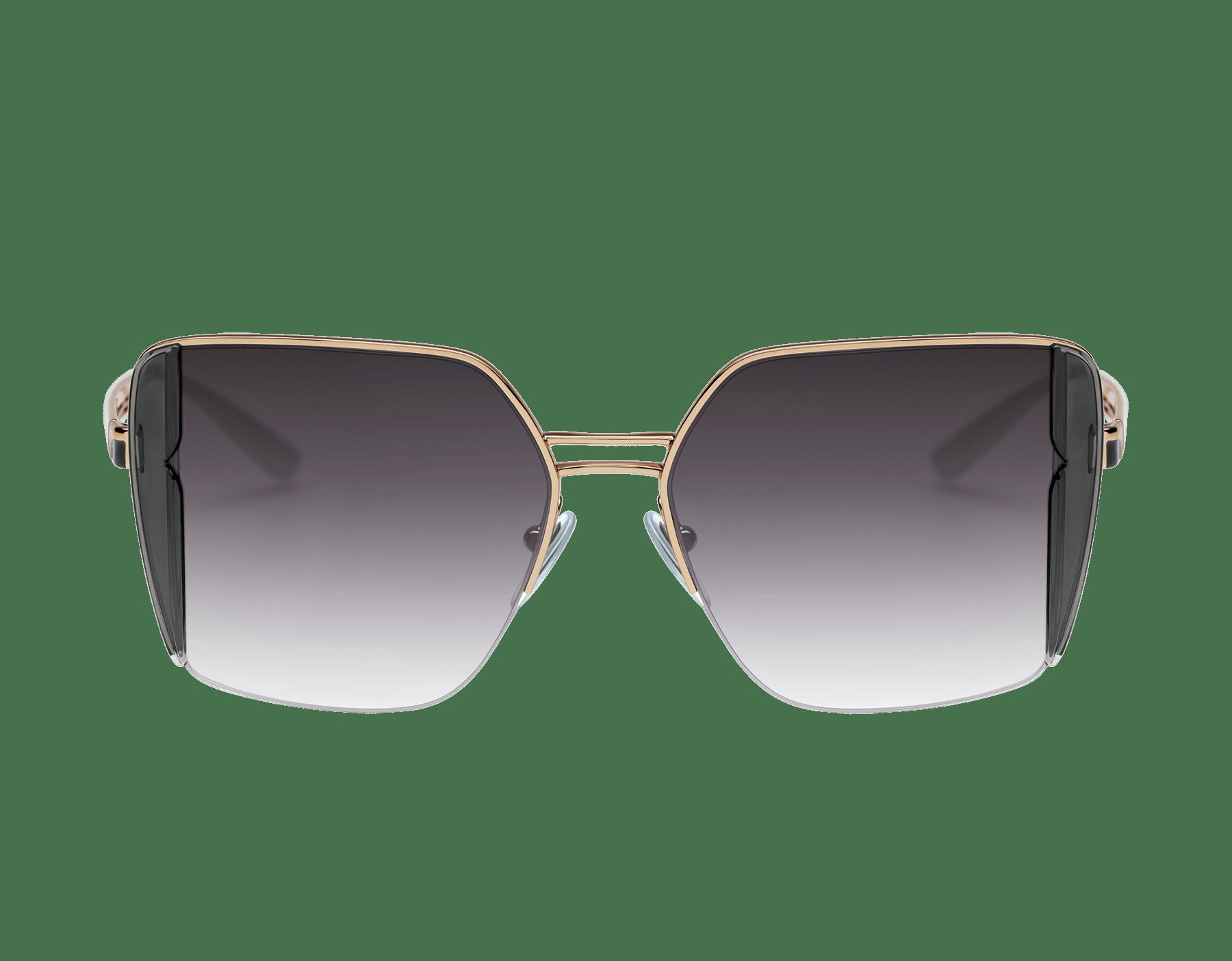 Bulgari B.zero1 B.purebright metal squared sunglasses. 903960 image 2