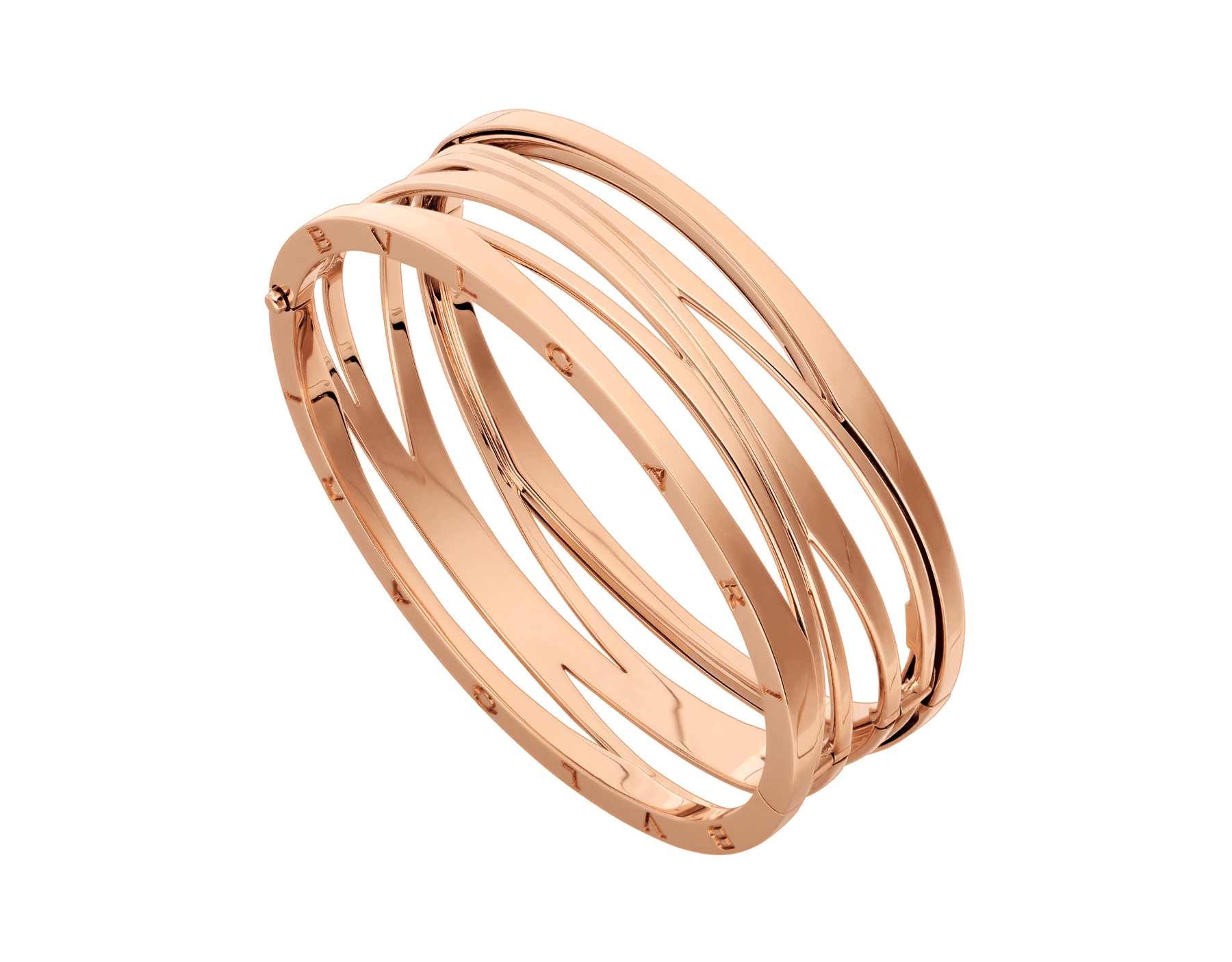 B.zero1 Design Legend bangle bracelet in 18 kt rose gold. BR858070 image 1