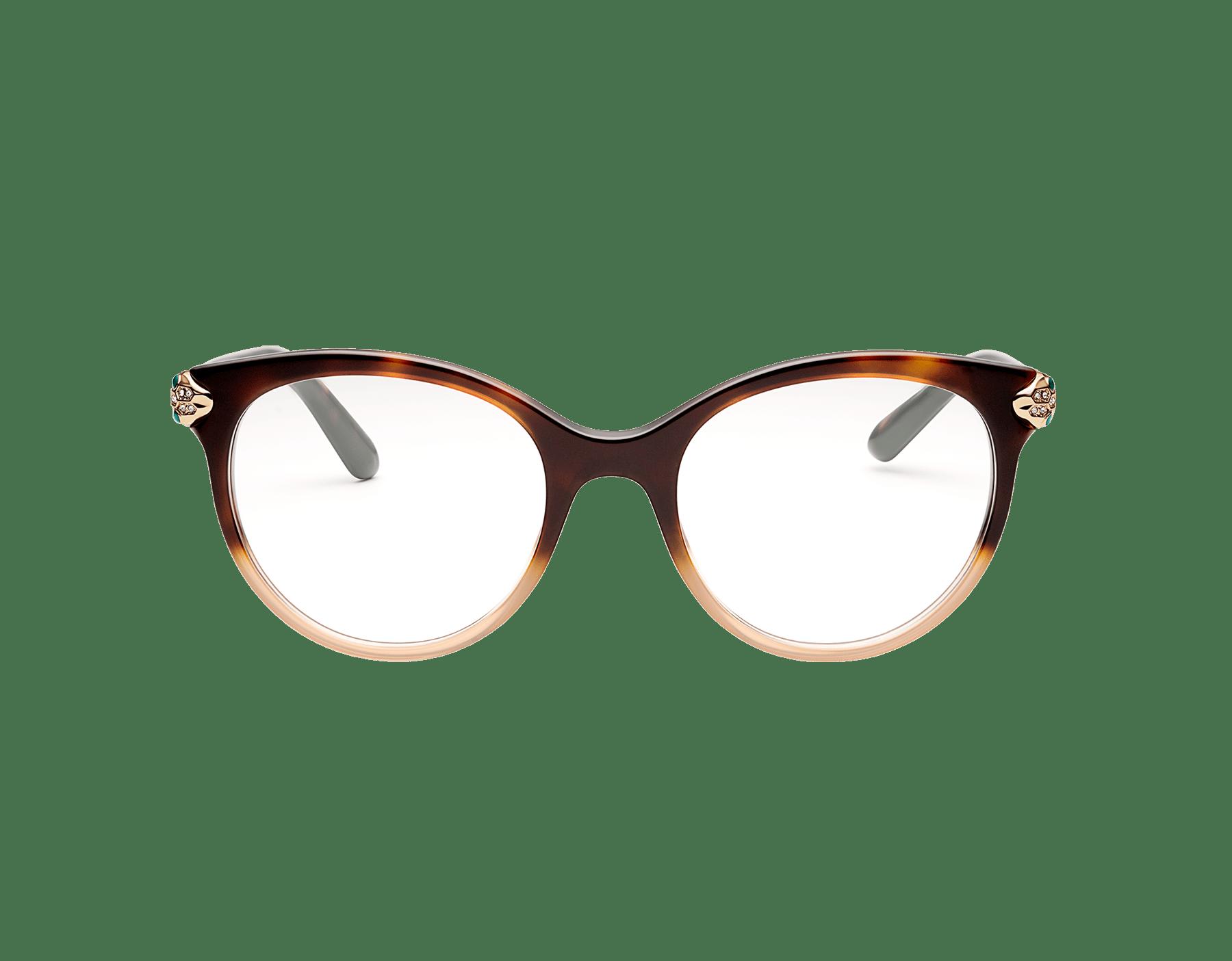 Serpenti 貓眼醋酸纖維光學鏡架。 903629 image 2