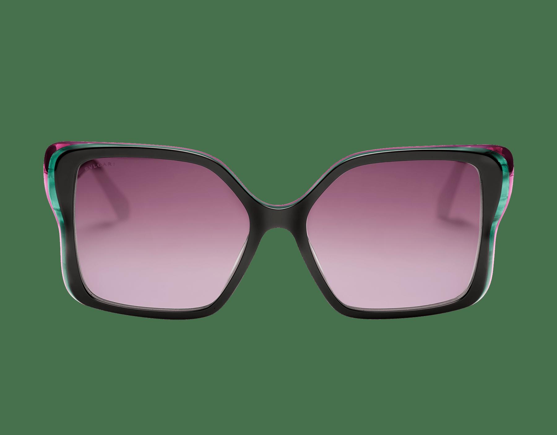 نظارات شمسية سيربنتي «باك-تو-سكيل» من الأسيتات بشكل فراشة 904055 image 2