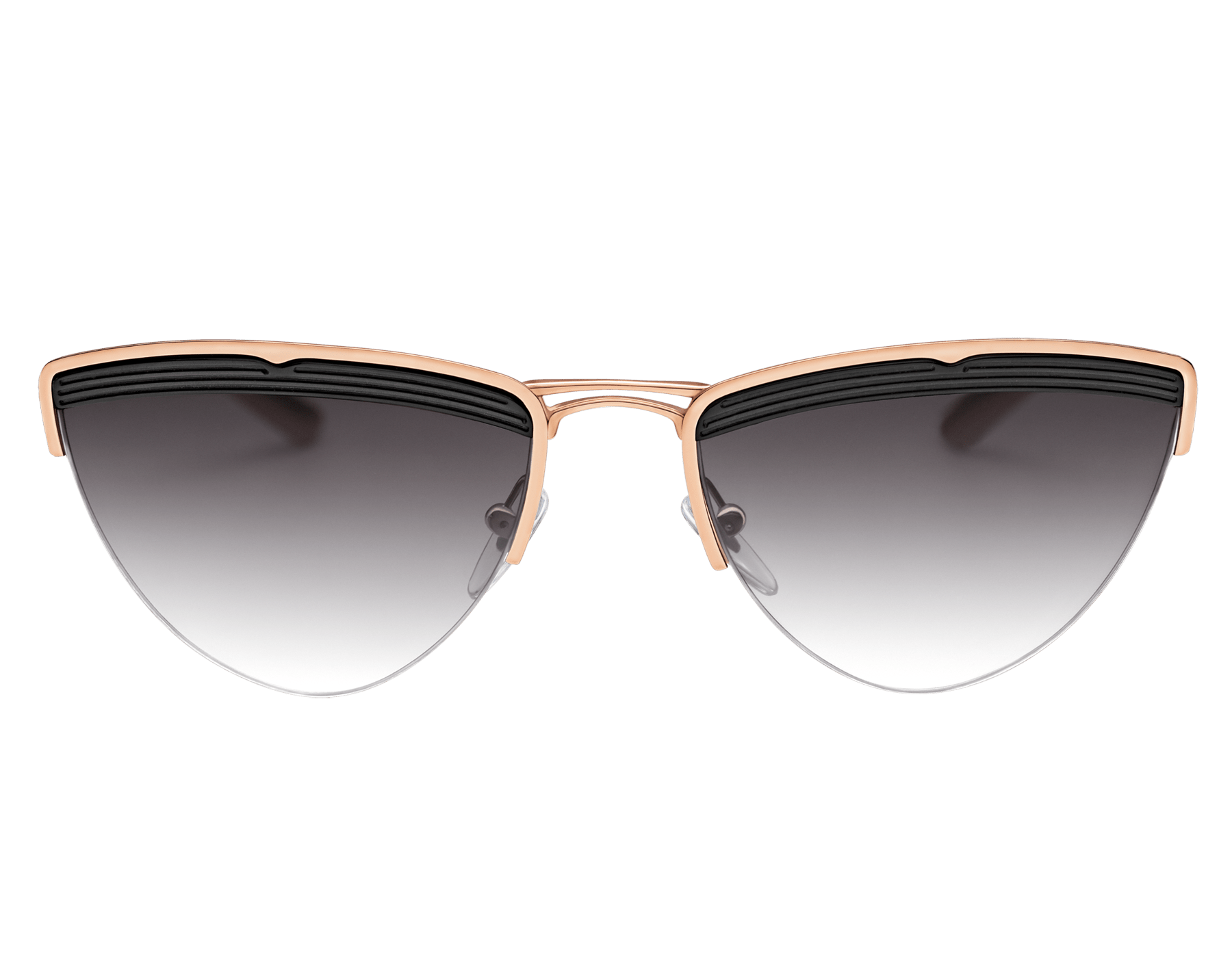 "Bvlgari B.zero1 ""B.minivibes"" metal cat-eye sunglasses. 904027 image 2"