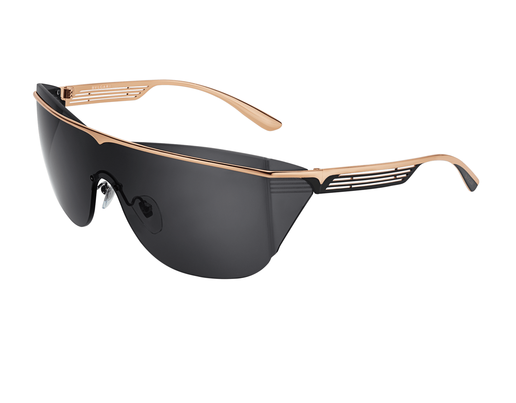Bulgari B.zero1 B.supercurve metal shield sunglasses. 903964 image 1