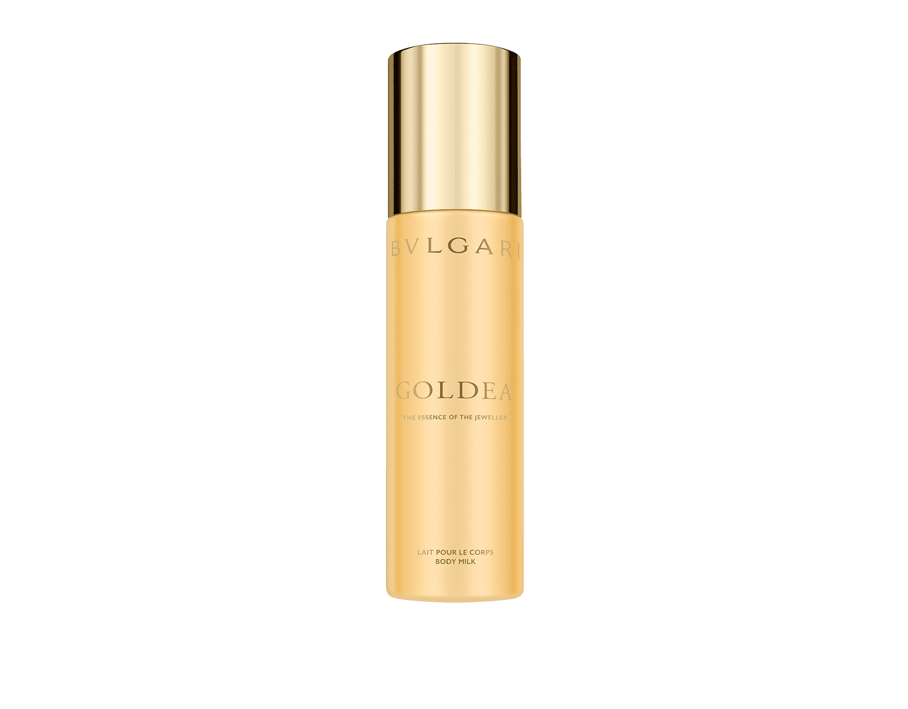 Creamy and gentle like a caress and delicately scented with Goldea notes, the body milk pampers the skin leaving a warm and sensual trail. A perfect act to prolong the wake of the fragrance. 50521 image 1