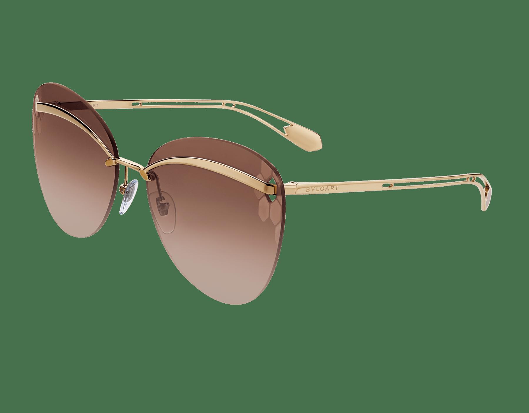 Bulgari Serpenti Flyingscale butterfly metal sunglasses. 903896 image 1