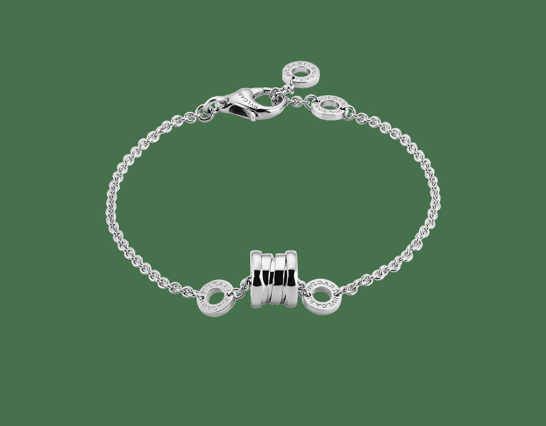 Pulsera flexible B.zero1 en oro blanco de 18 qt. BR853720 image 1