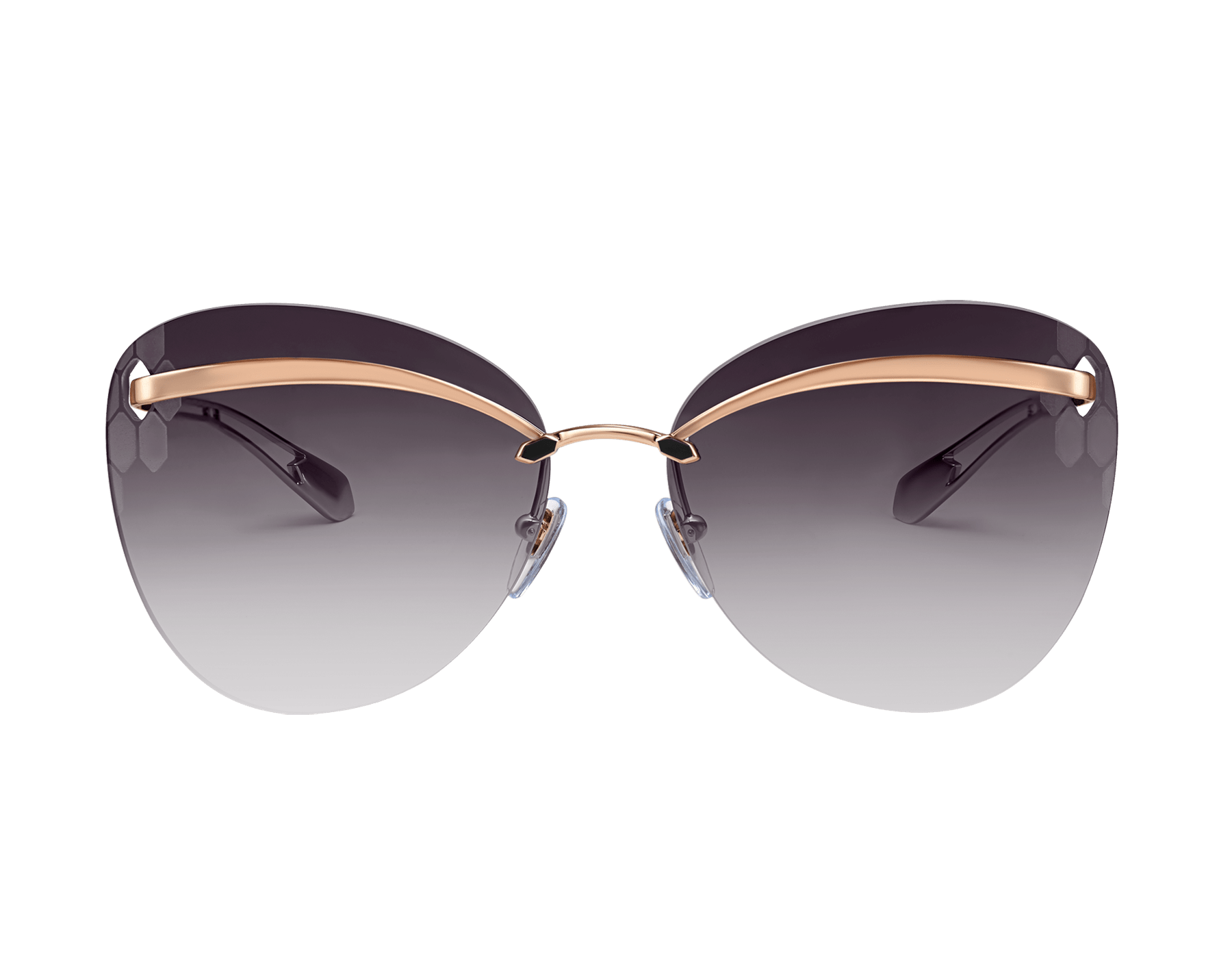 Bulgari Serpenti Flyingscale butterfly metal sunglasses. 903897 image 2
