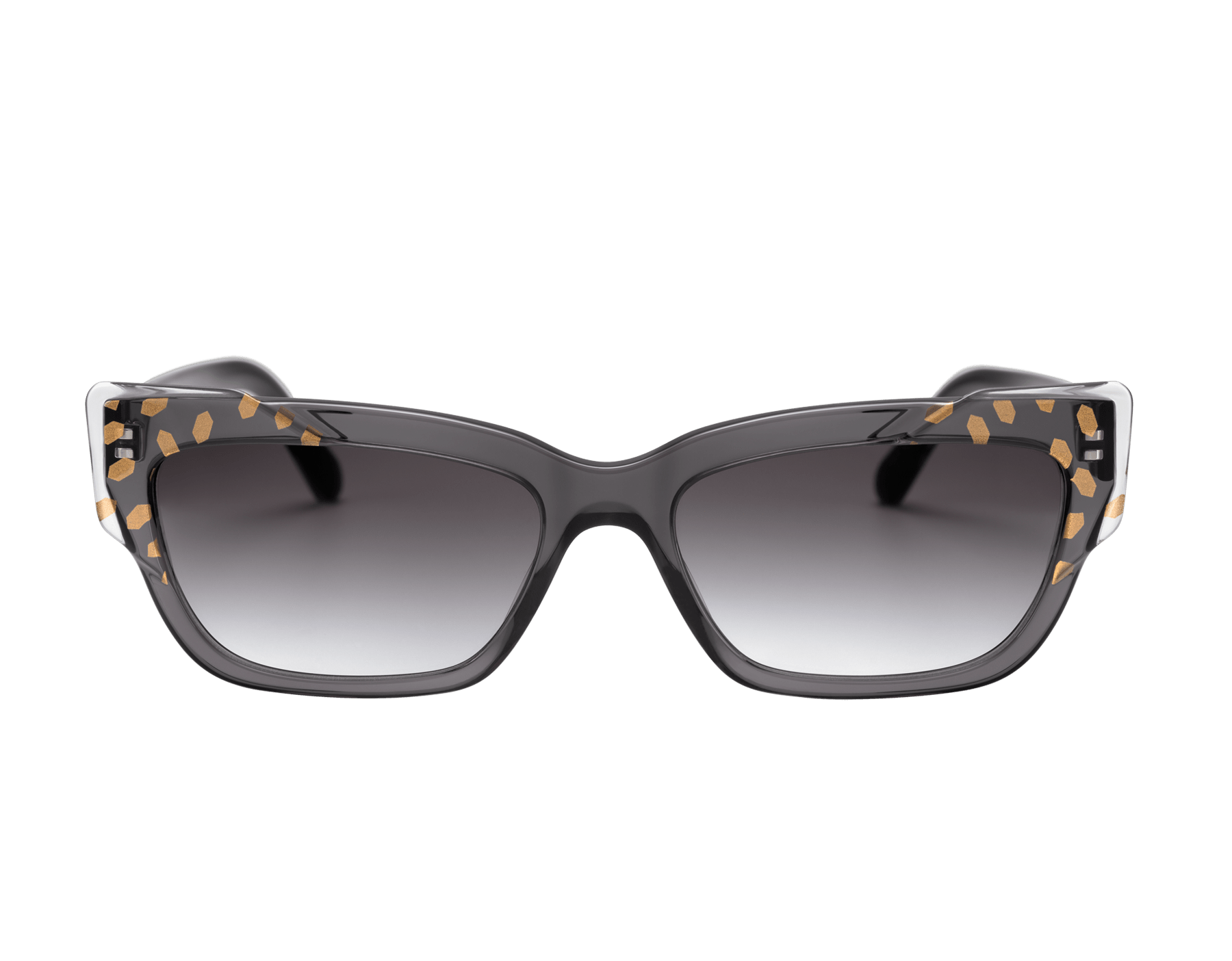 Bvlgari Serpenti Scale-blast rectangular cat-eye acetate sunglasses. 903735 image 2