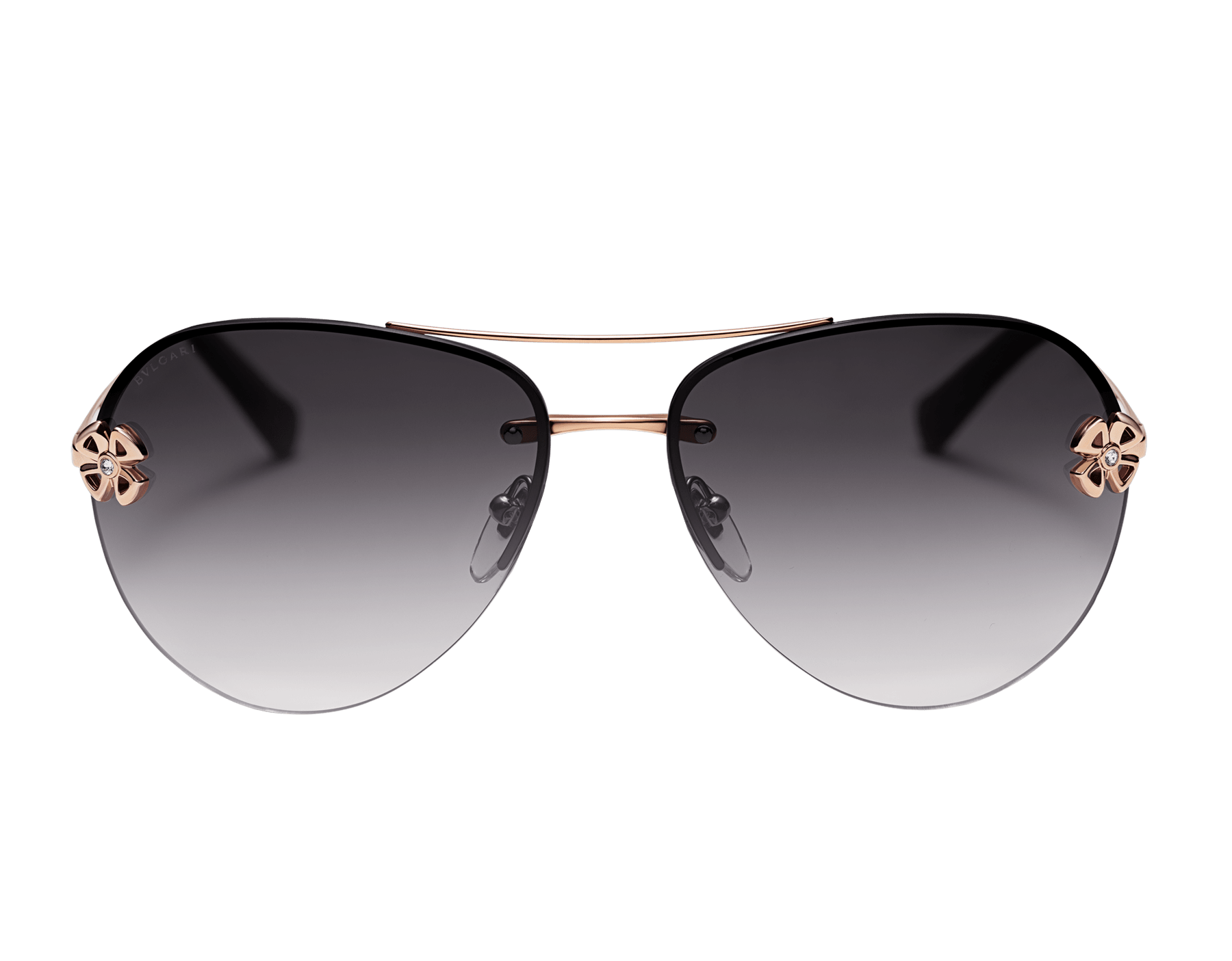 Bulgari Fiorever double bridge aviator sunglasses. 903999 image 2