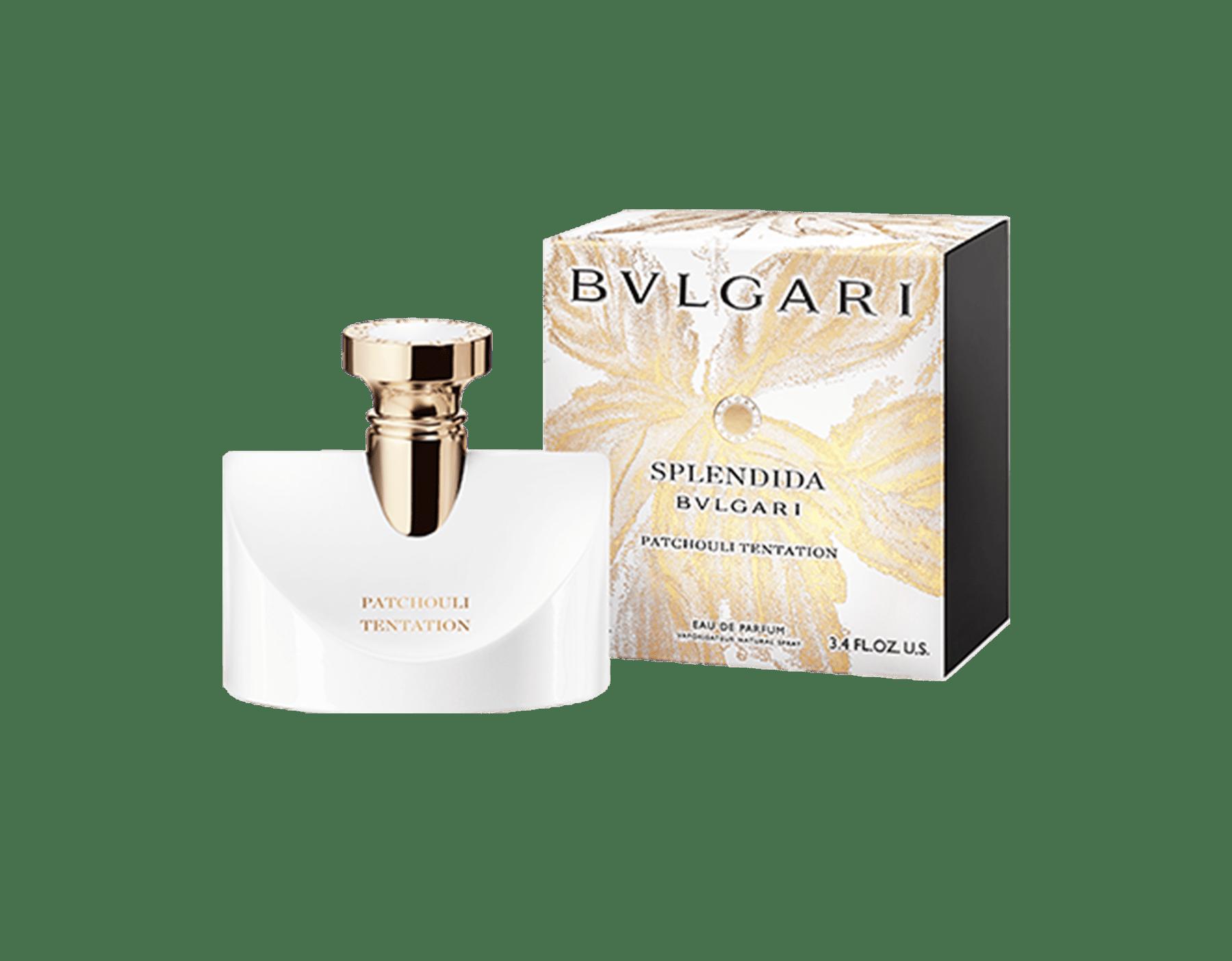 Un parfum chypré floral délicat et irrésistible, composé d'un trio de patchouli reflétant toute l'ardeur d'une tentation grandissante. 41127 image 1