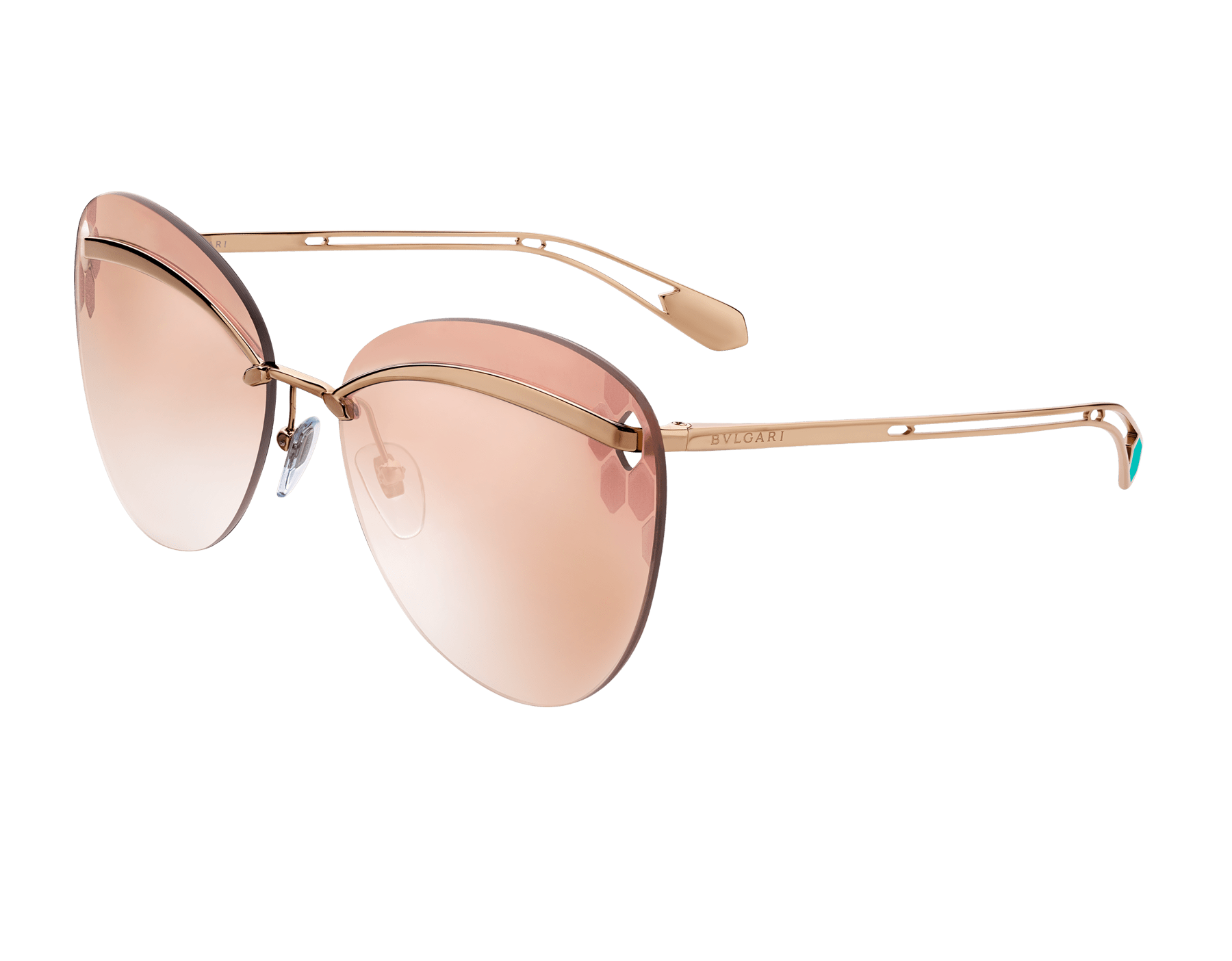 Bulgari Serpenti Flyingscale butterfly metal sunglasses. 903898 image 1