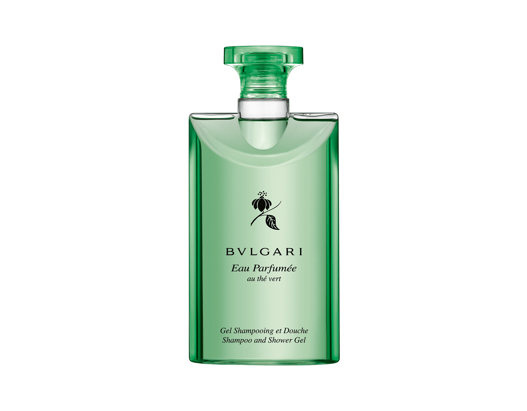 Eau Parfumee Au The Vert Shampoo Shower Gel 47191 Bvlgari